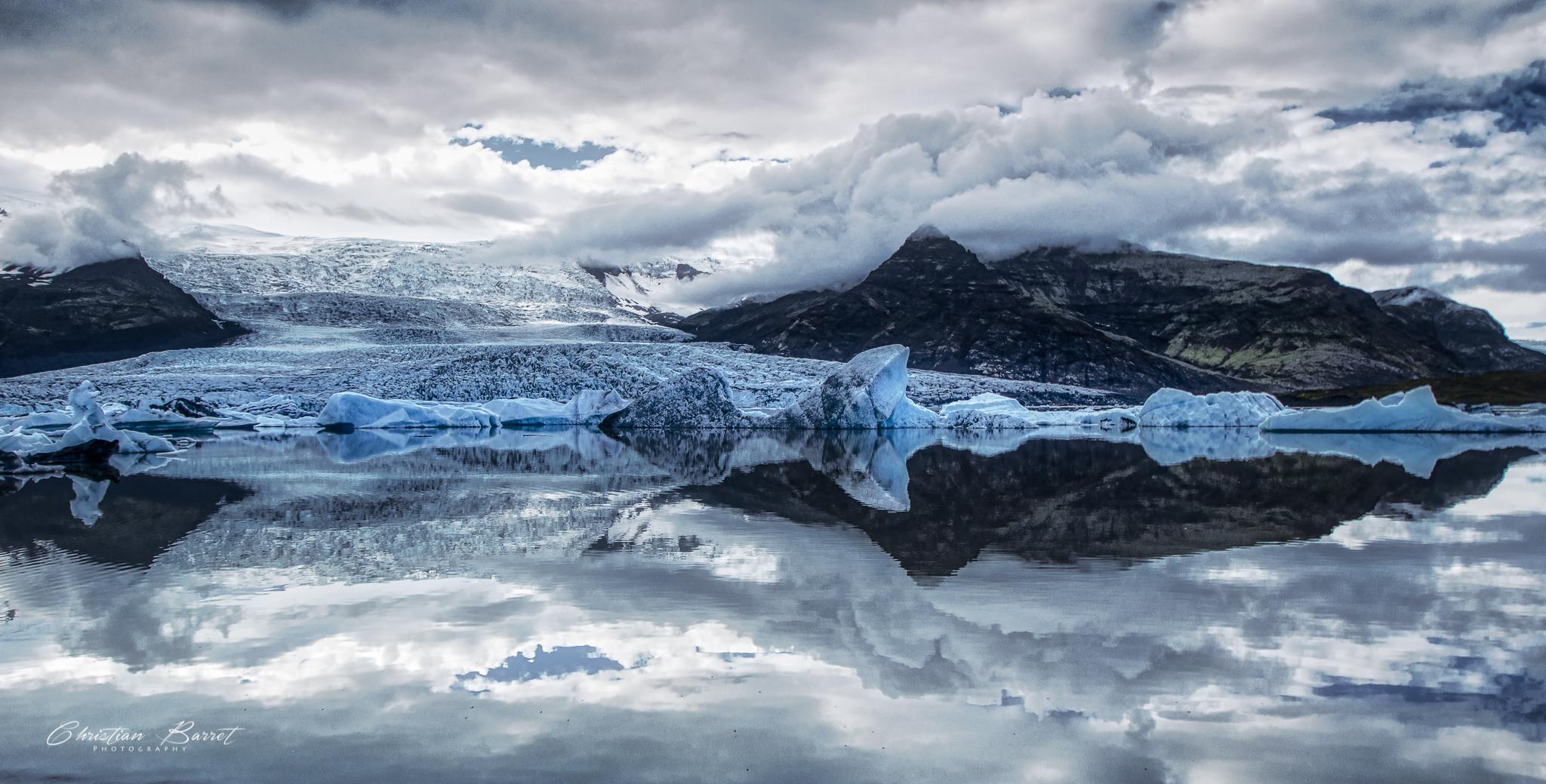 Fjallsárlón - glacier lagoon, Iceland
