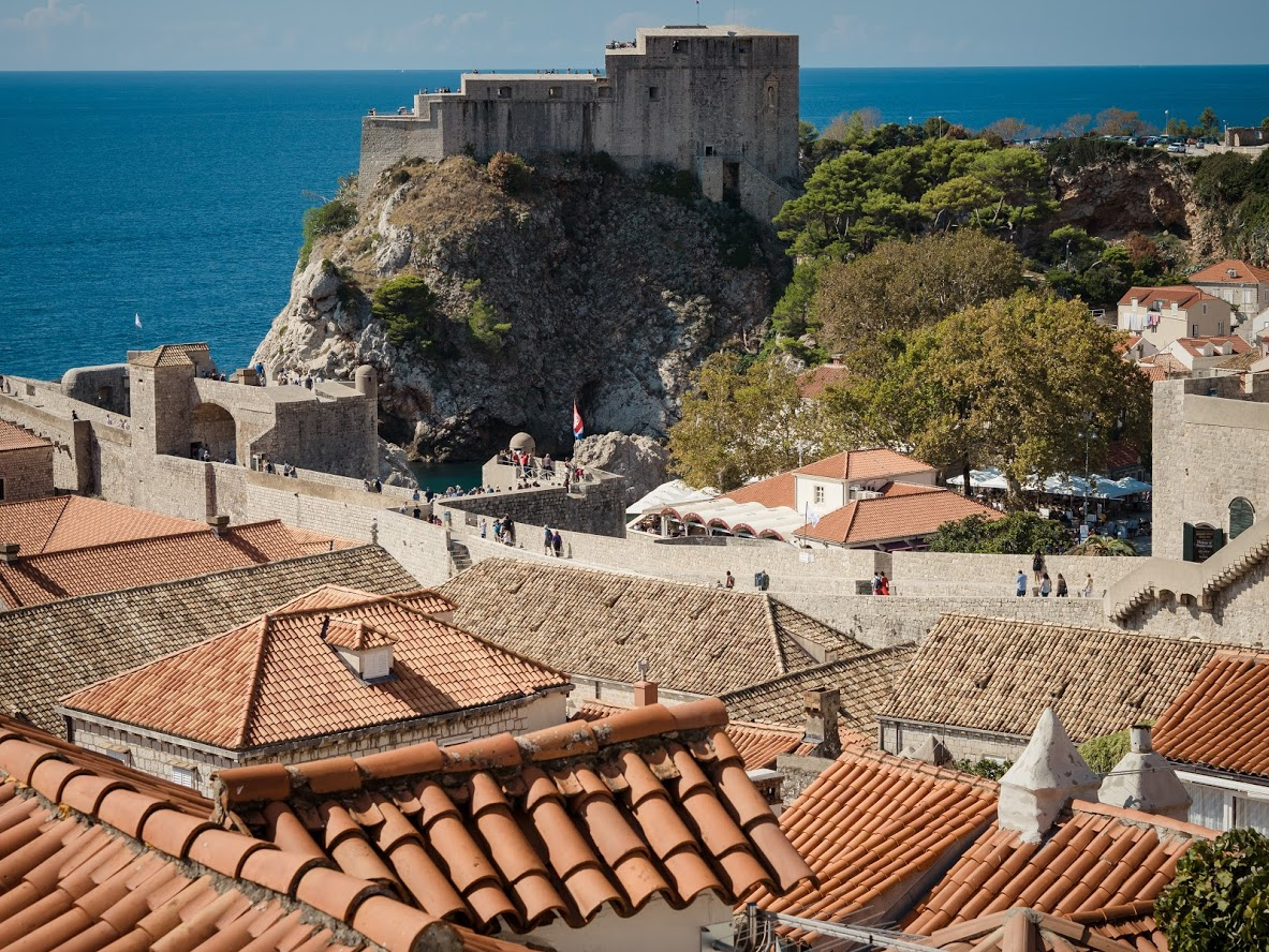 Fort Lovrijenac, Croatia