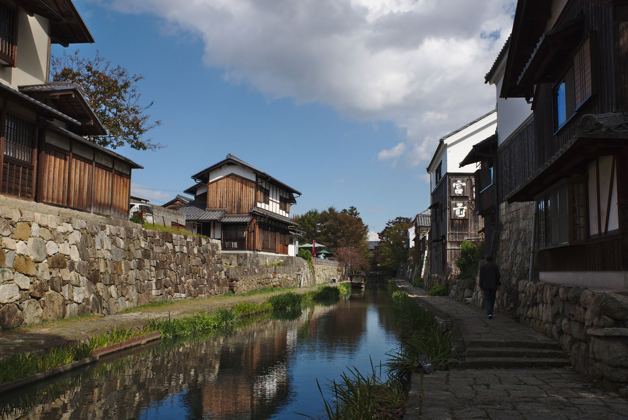 Hachiman-bori, Japan