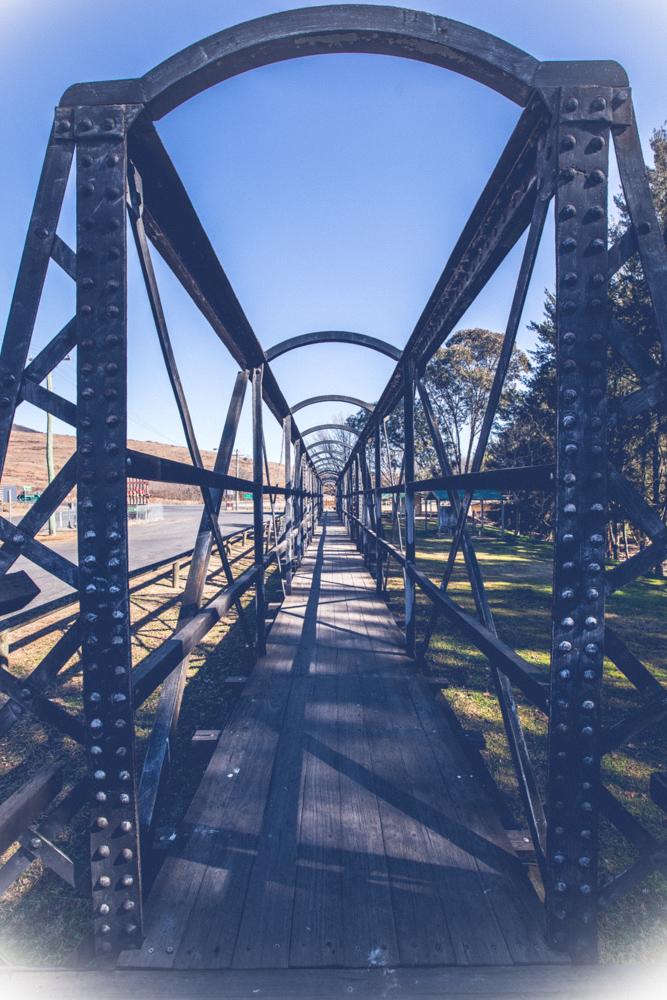 Historic Bridge memorial Sofala, Australia