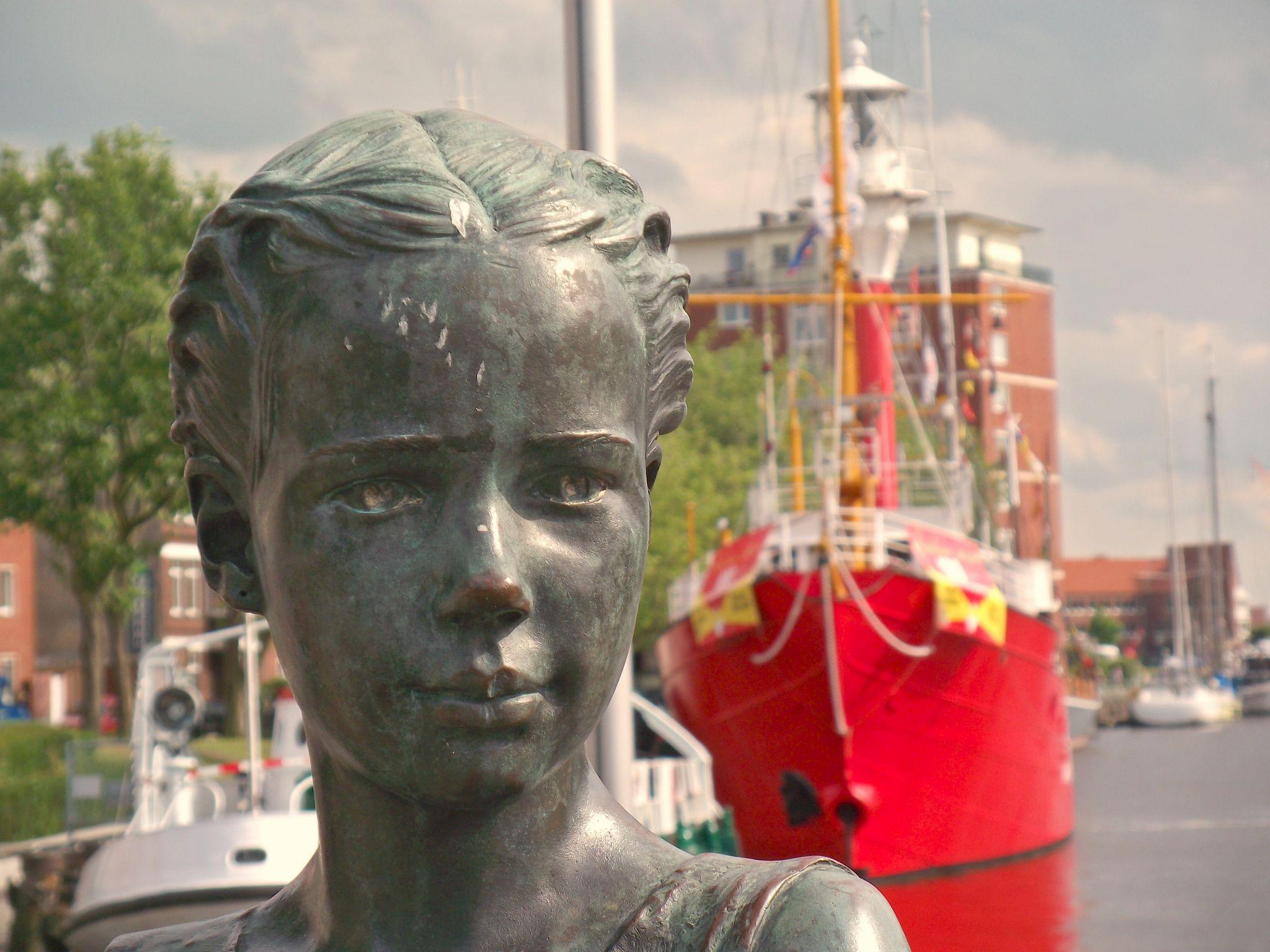 im Hafen von Emden, Germany