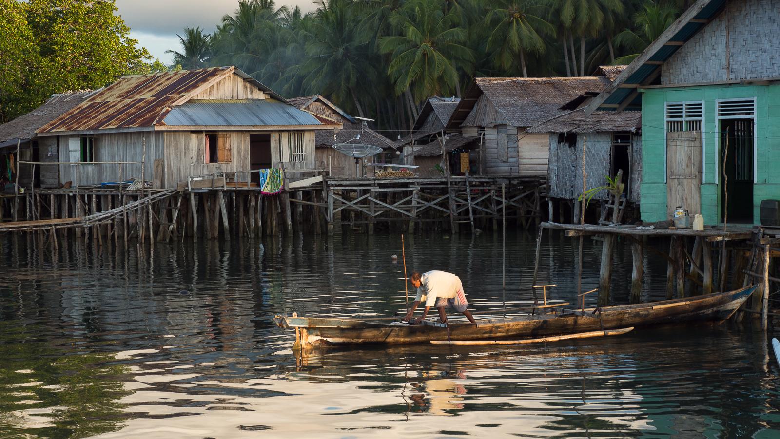 Katupat - The village, Indonesia