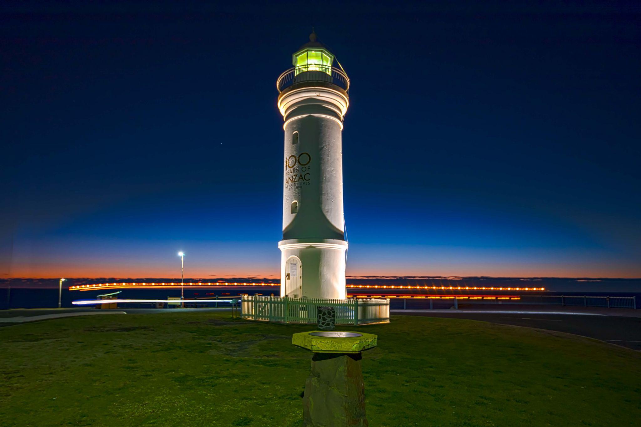 Kiama Lighthouse sunrise New South Wales, Australia