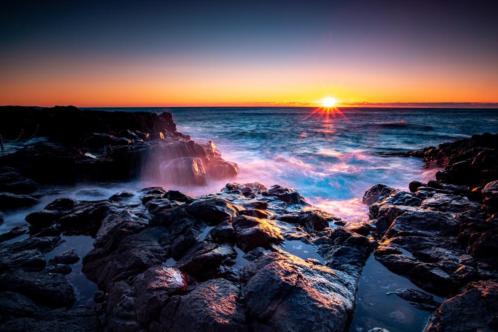 Kiama Rocks Sunrise New South Wales, Australia