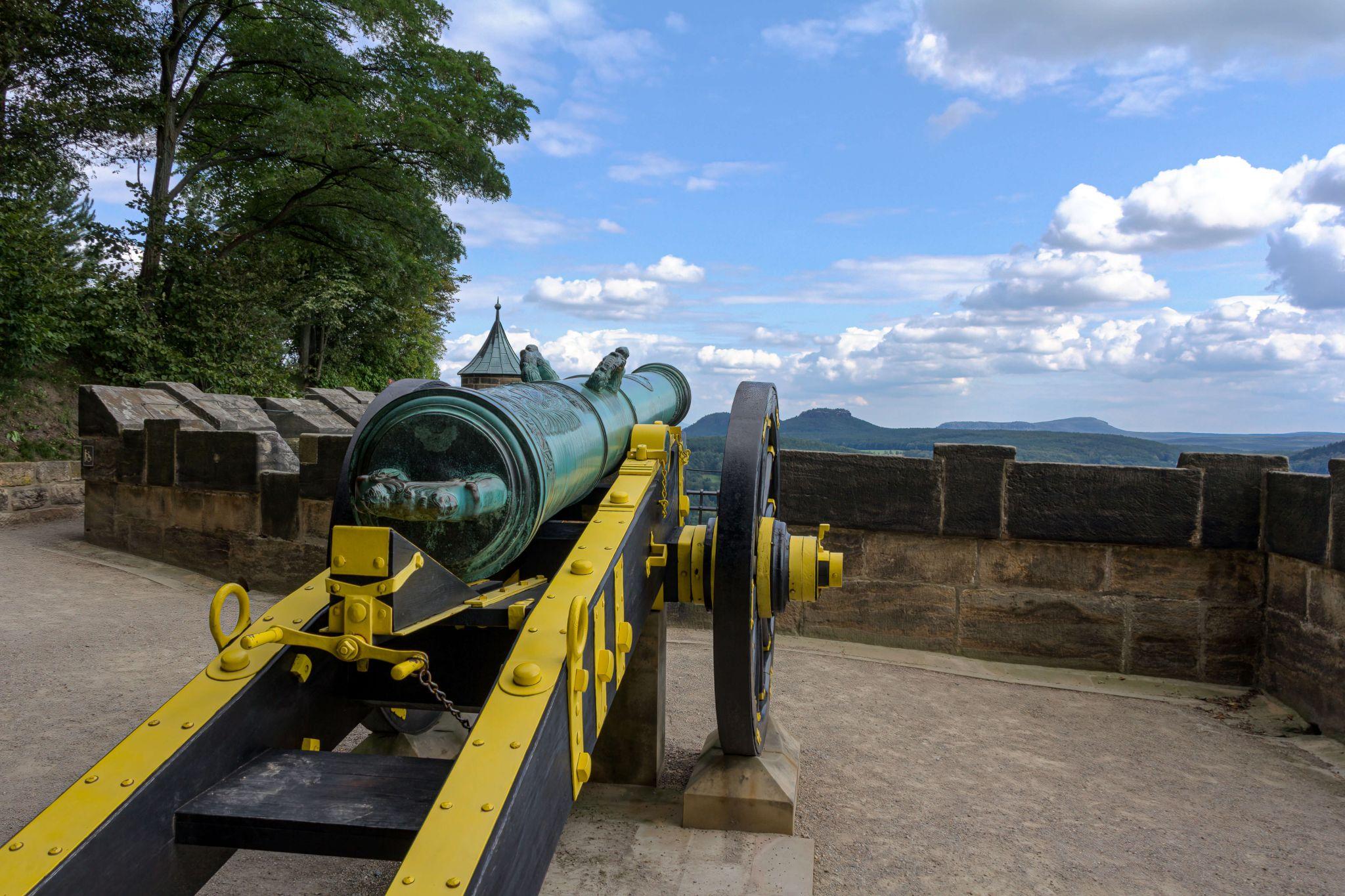 Koenigstein Fortress Gun, Germany