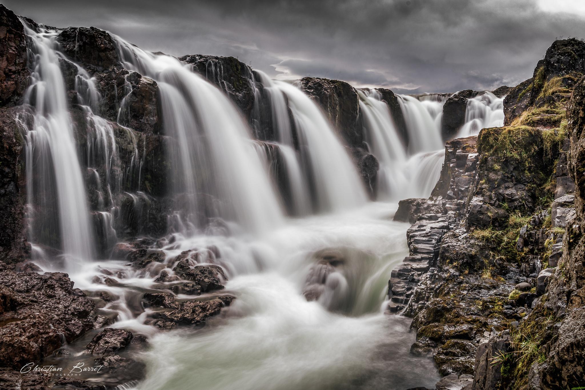 Kolufoss - Waterfall, Iceland