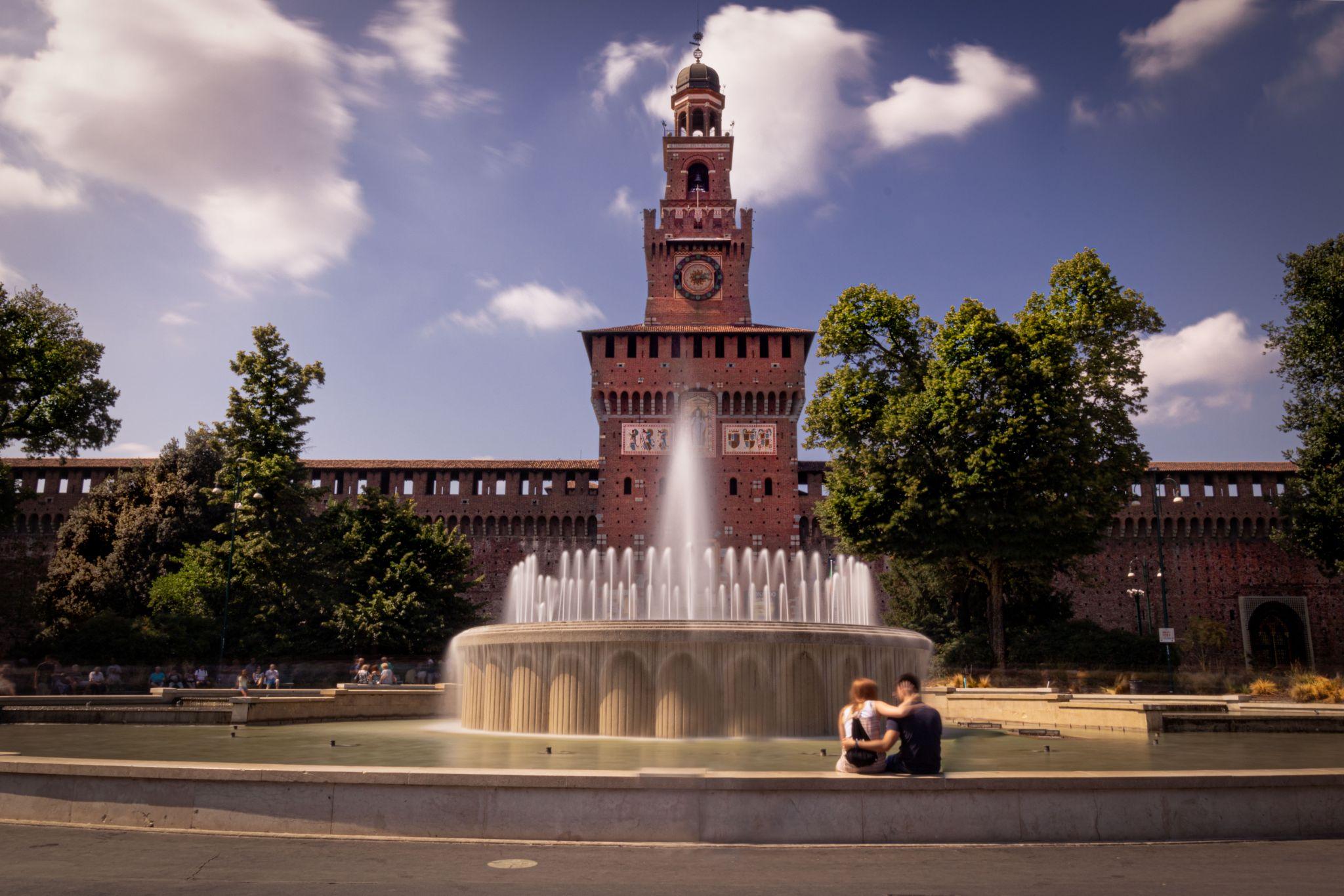 La Fontana di Piazza Castello, Italy