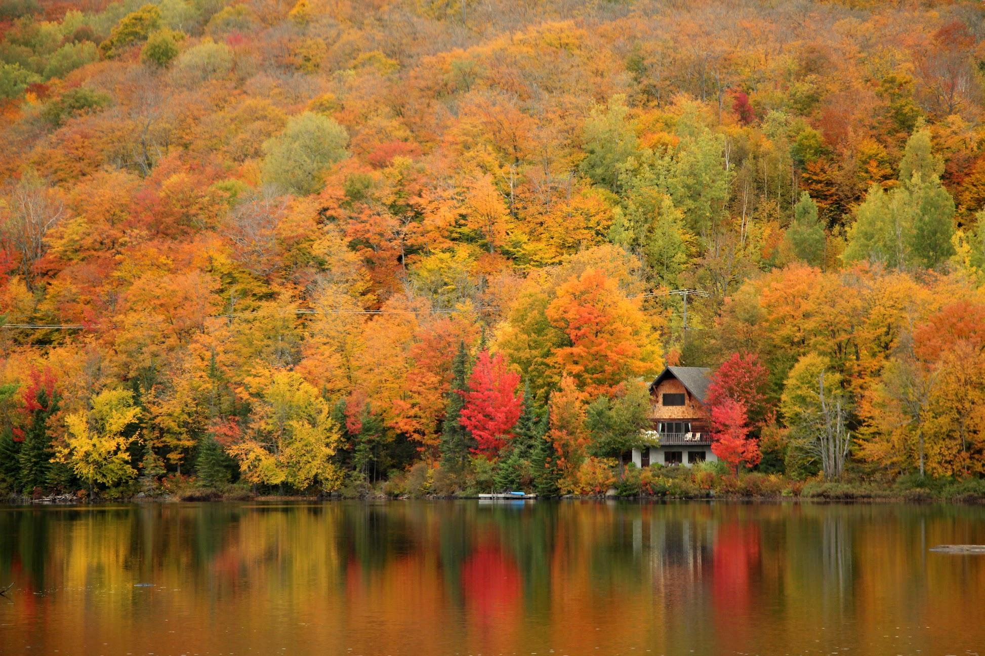 Lac Chevreuils (lake), Canada