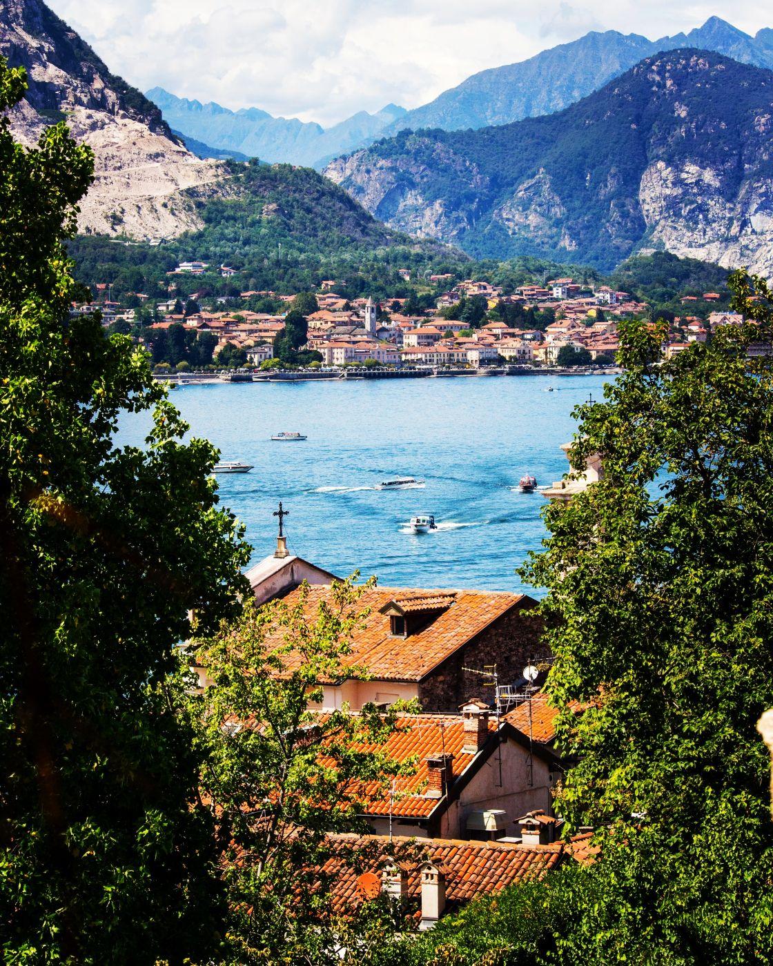 Lago Maggiore from Isola Bella, Italy