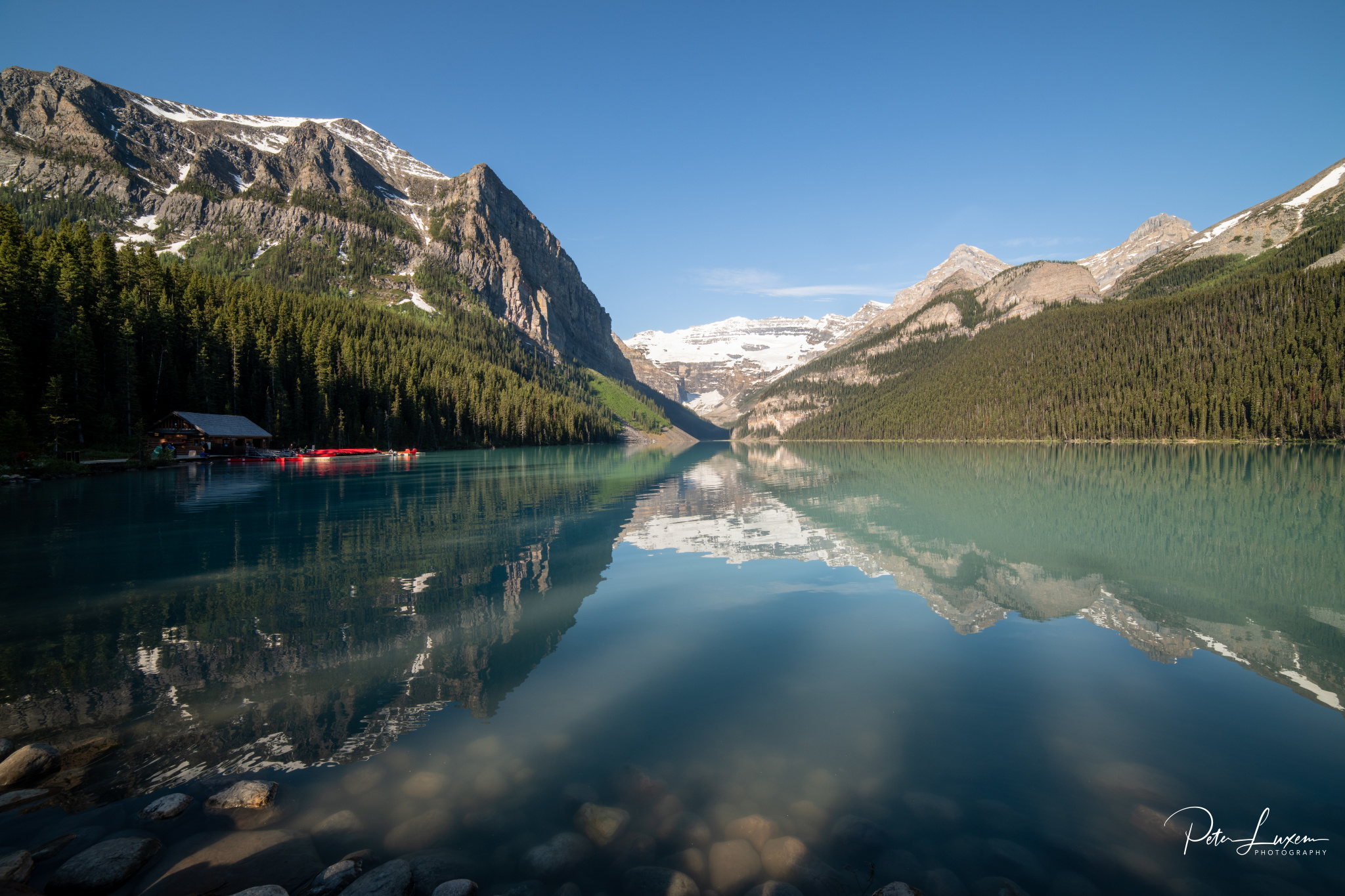 Lake Louise (near Parking), Canada