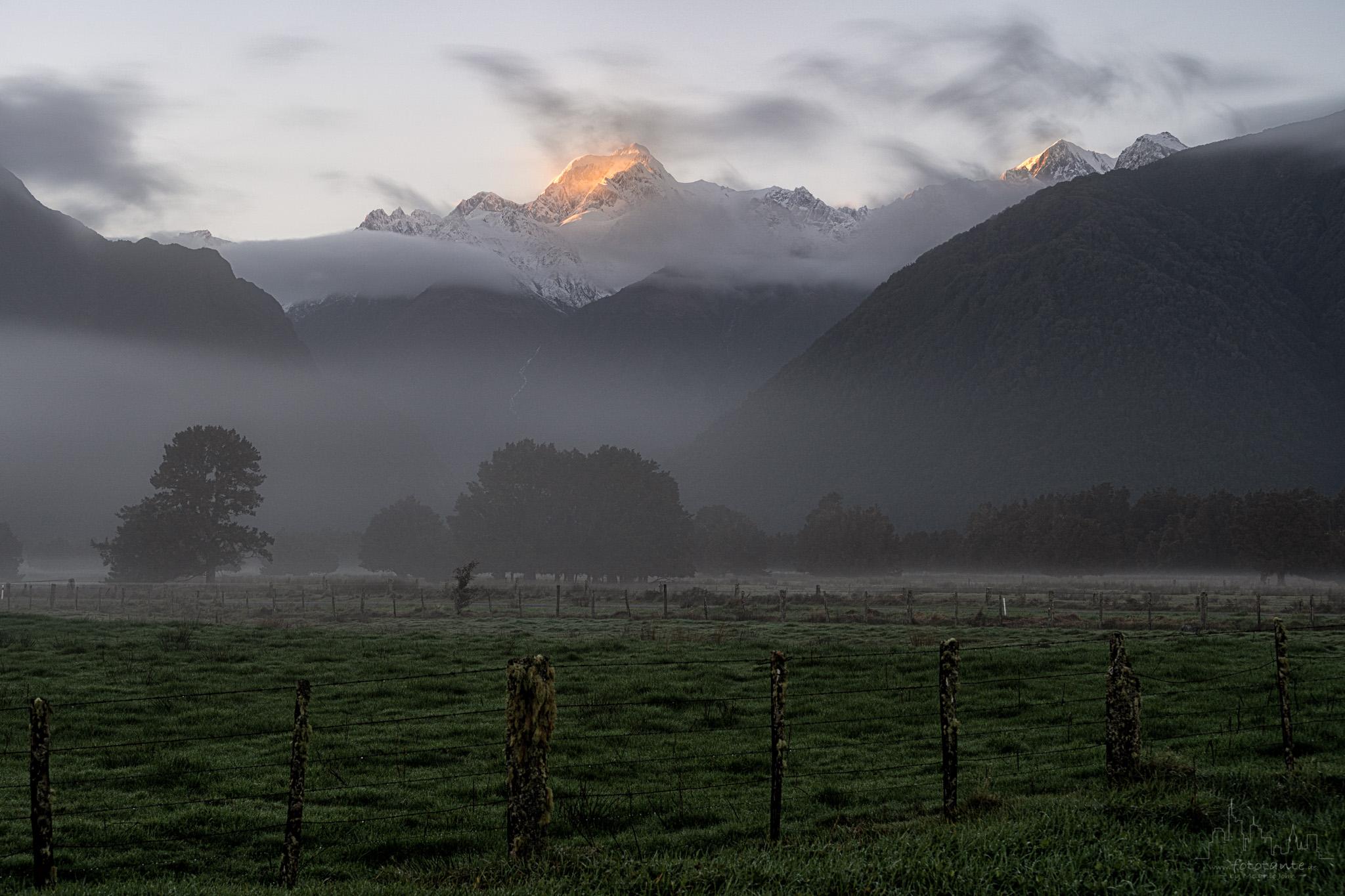 Lake Mathieson Road, Fox Glacier, NZ, New Zealand