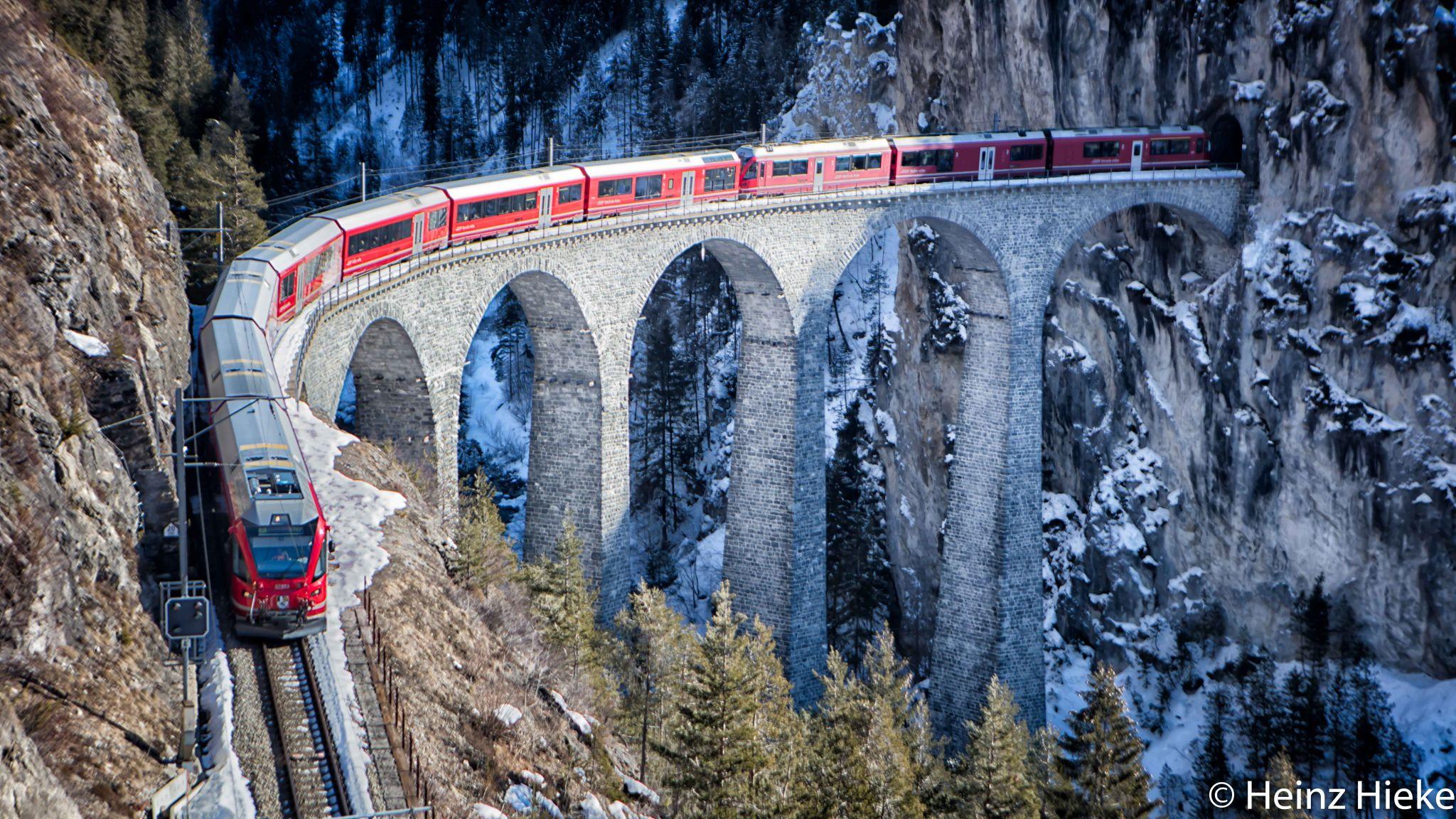 Landwasserviadukt, Switzerland