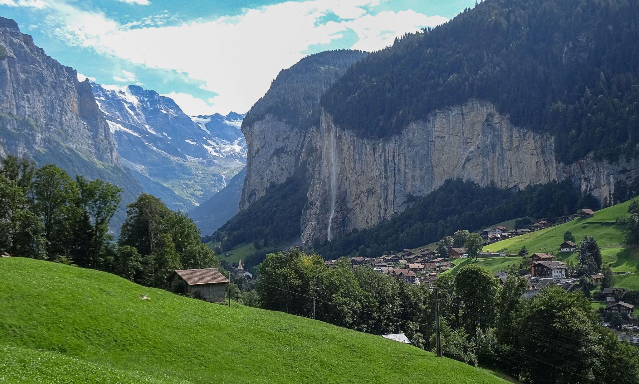 Lauterbrunnen Valley alternative, Switzerland