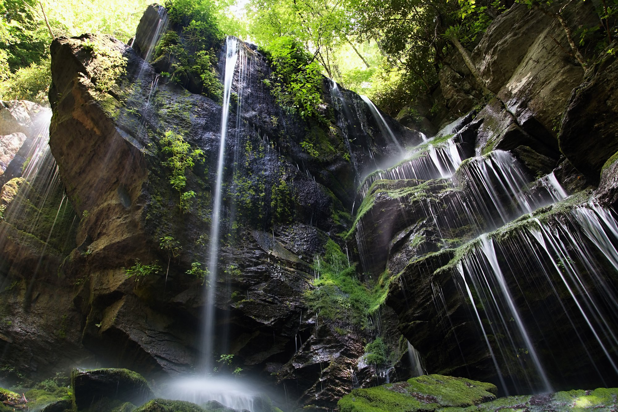 English Falls, USA