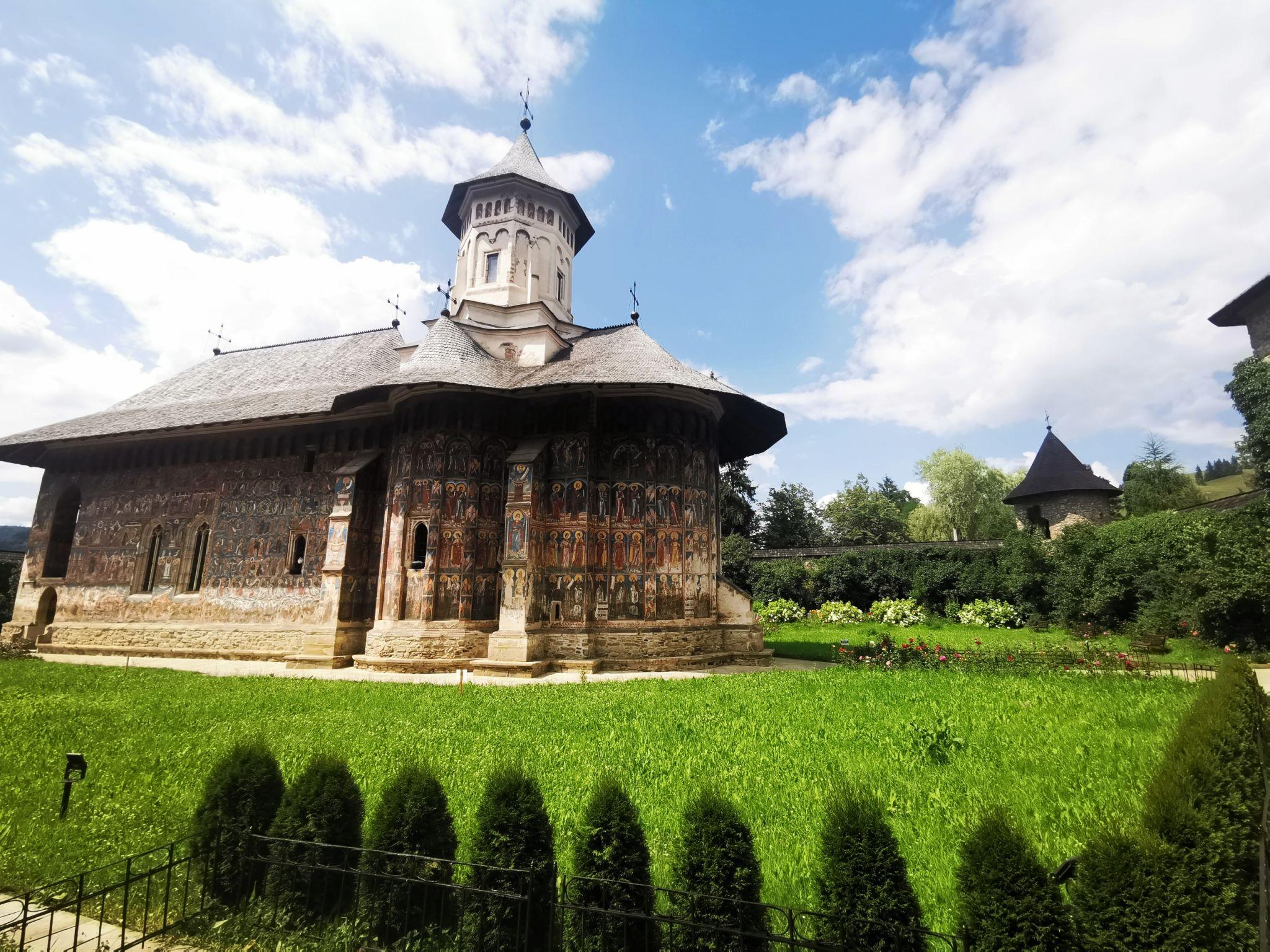 Mânăstirea Moldovita, Romania