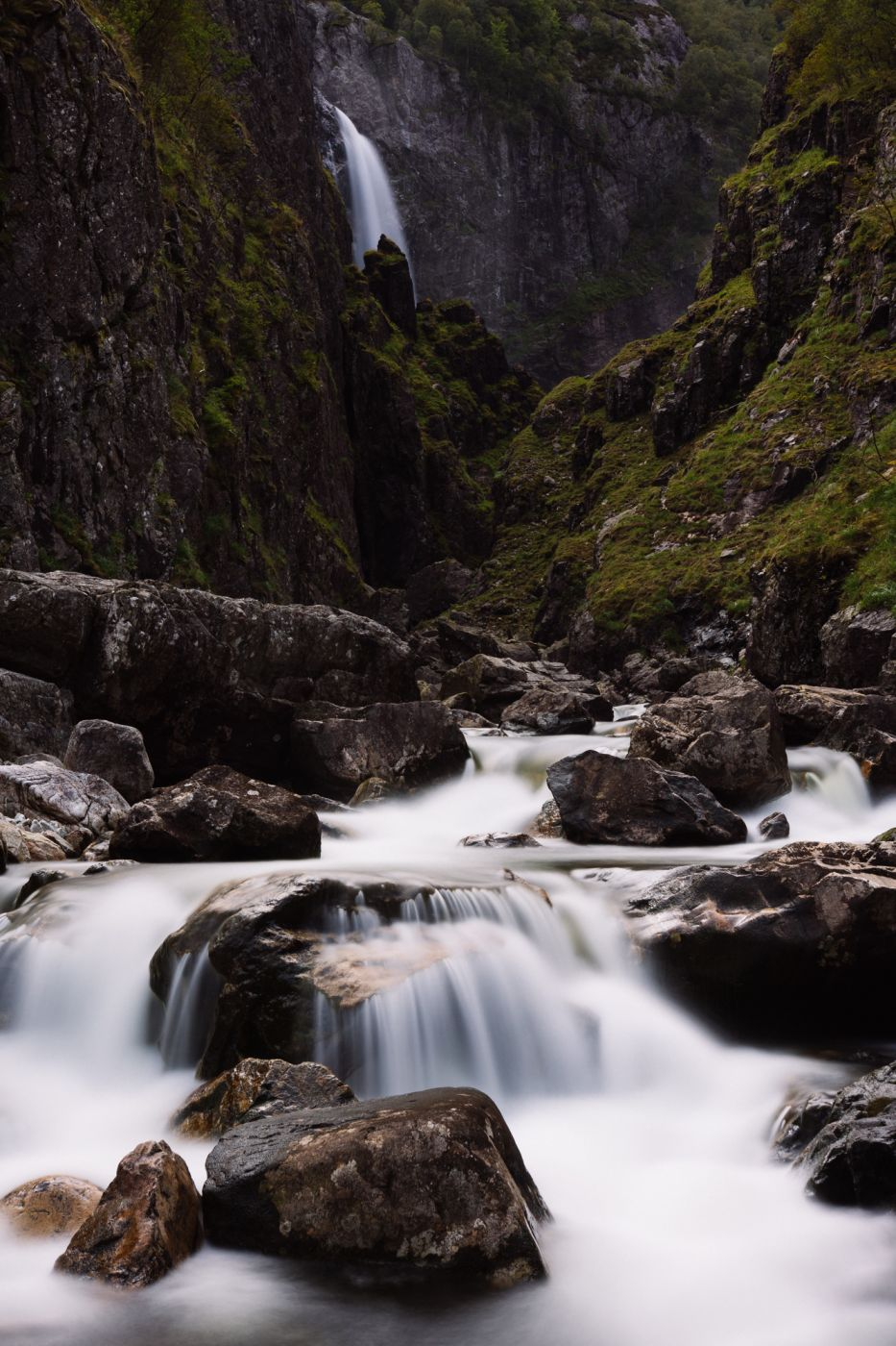 Månafossen, Norway