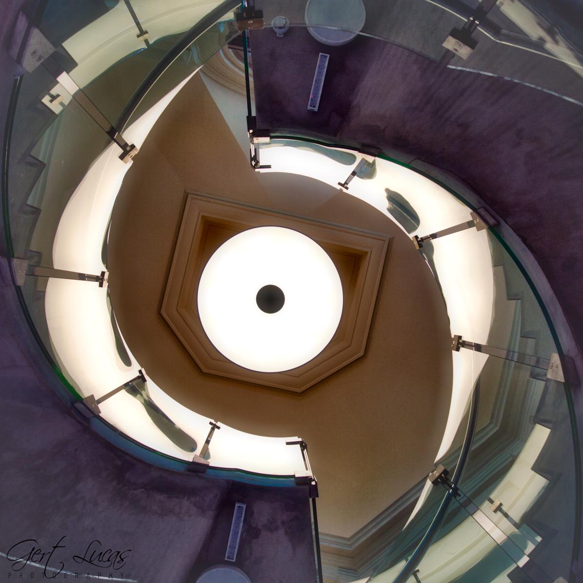 Mémorial 1815 Staircase, Belgium