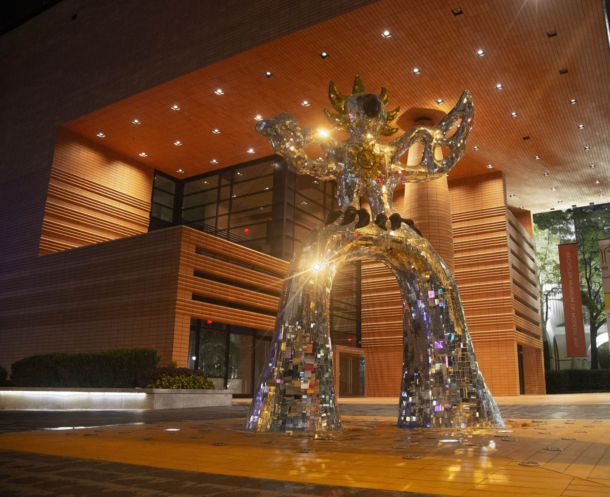 Modern museum Charlotte, USA