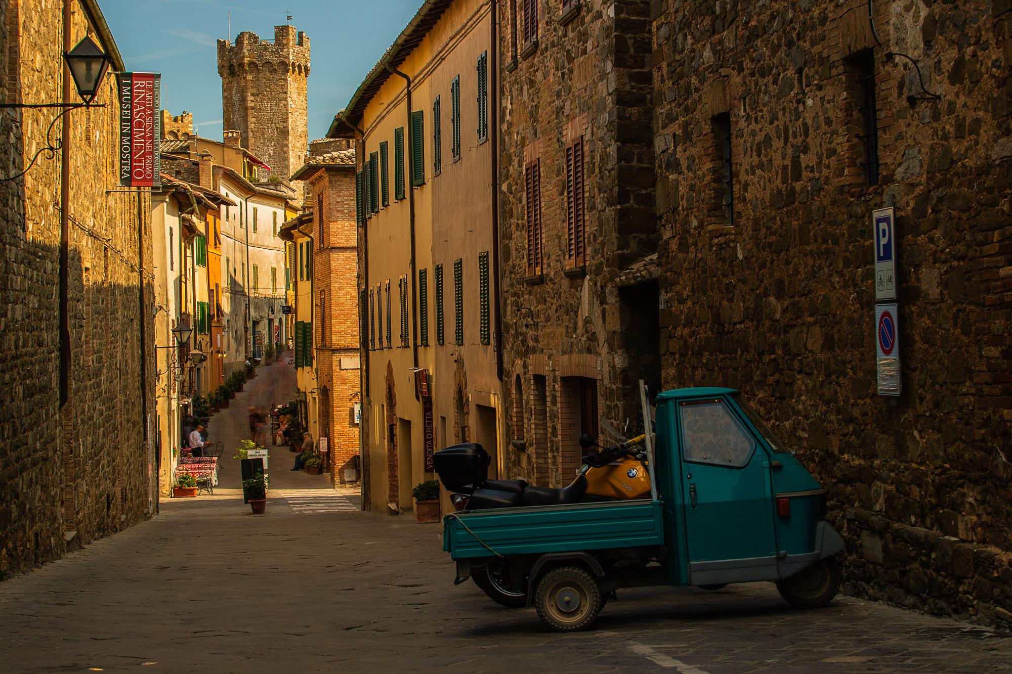 Montalcino Street, Italy