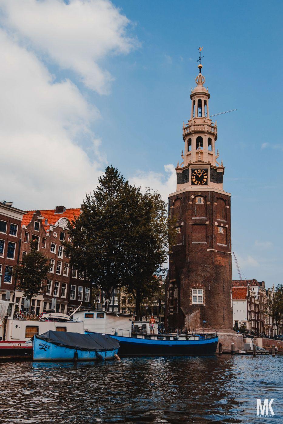 Montelbaanstoren Tower, Netherlands