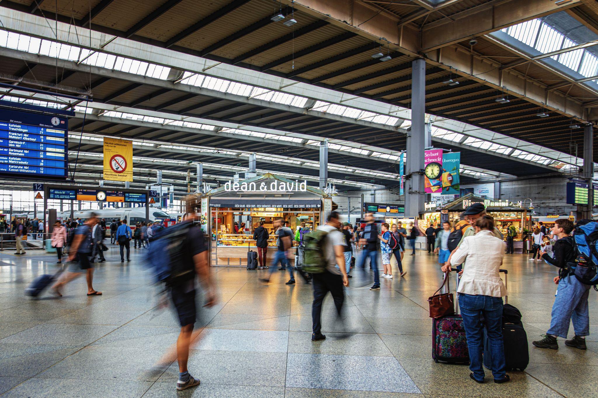 Munich Hof Hauptbahnhof, Germany
