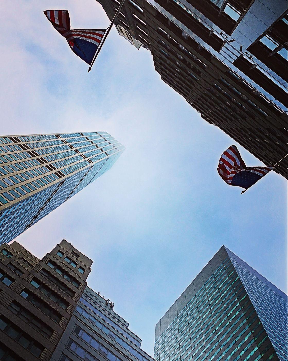 New York sky, USA