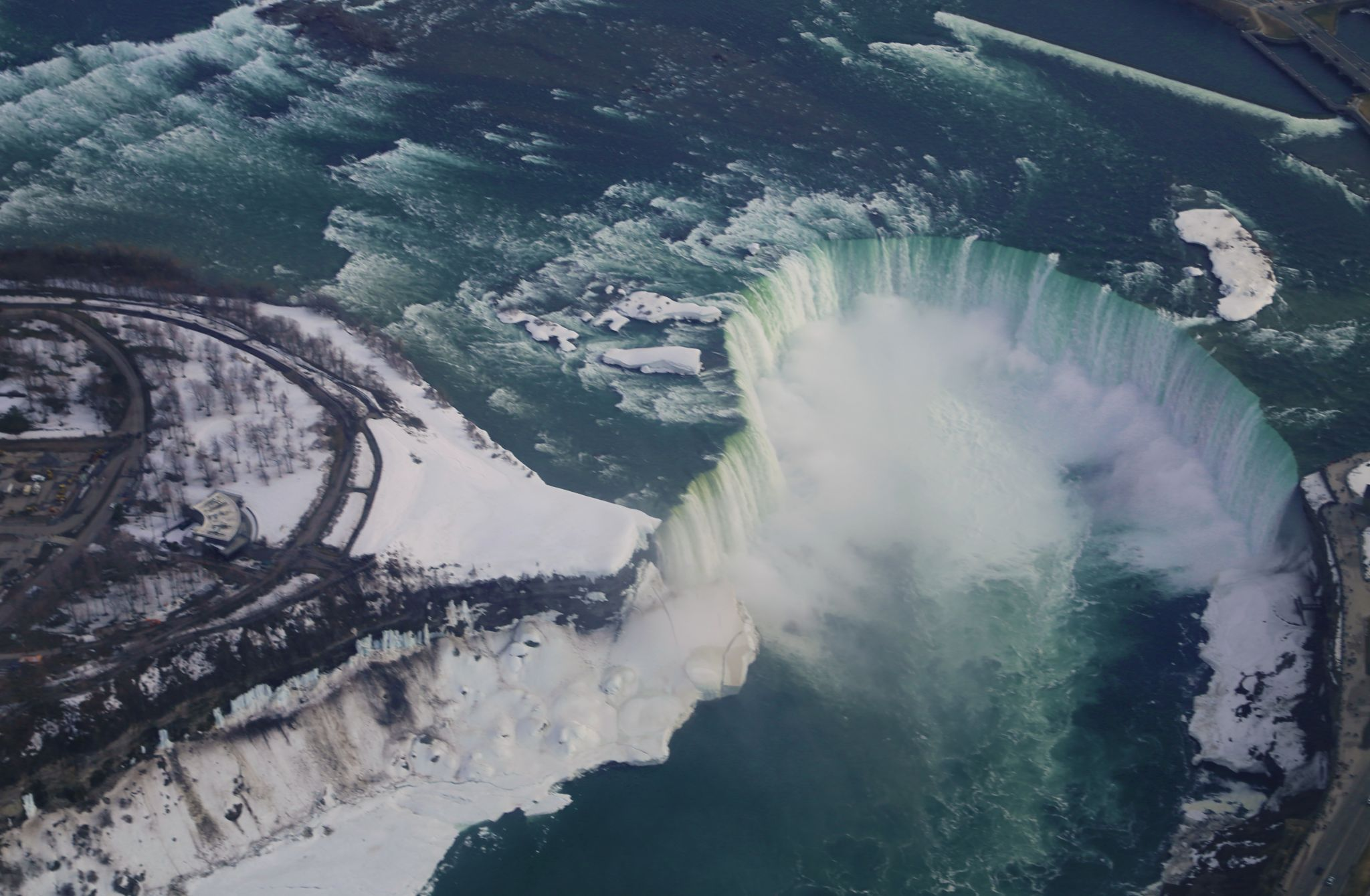 Niagara Falls from the sky, Canada
