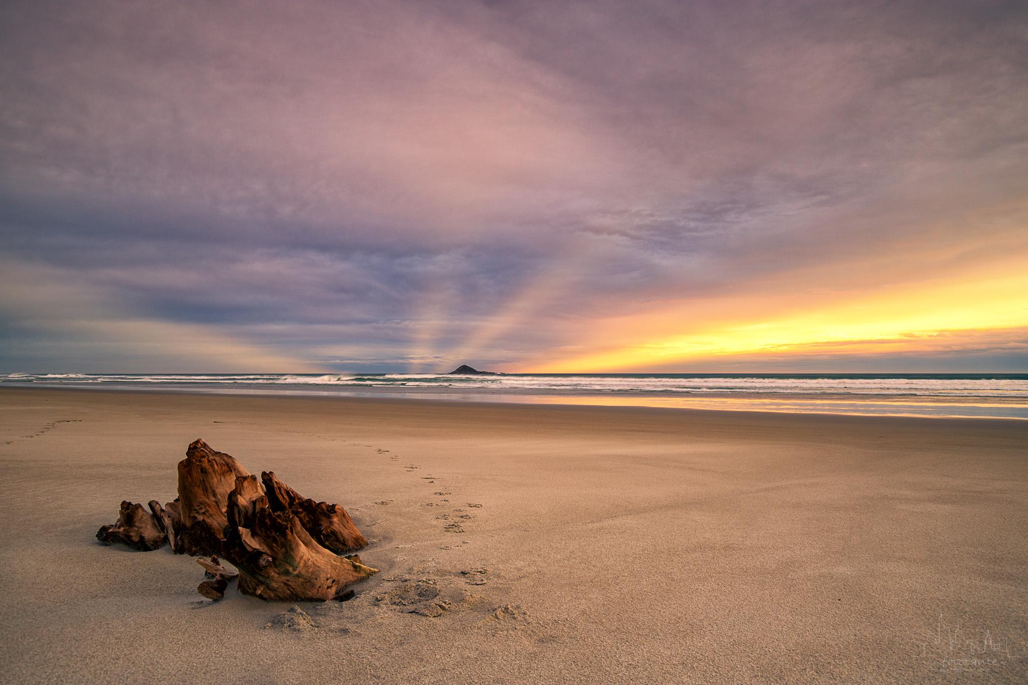 Ocean View Beach, south of Dunedin, New Zealand