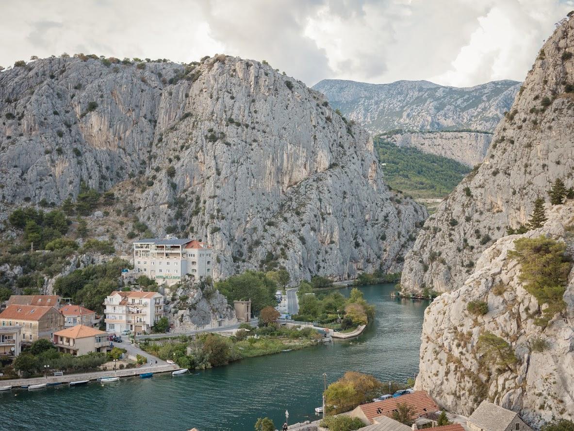 Omis, Cetina River, Croatia, Croatia