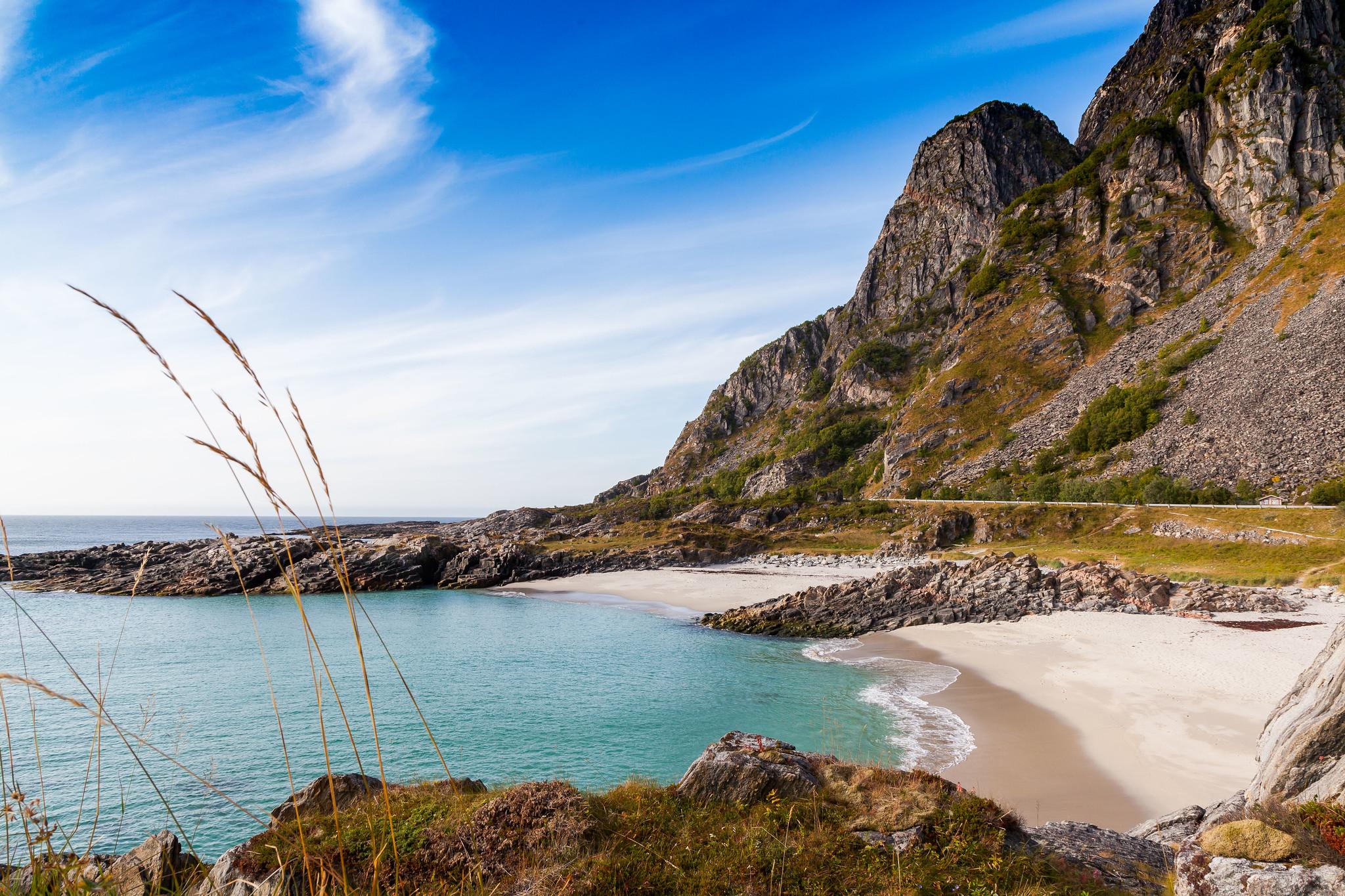 otervika beach, Norway