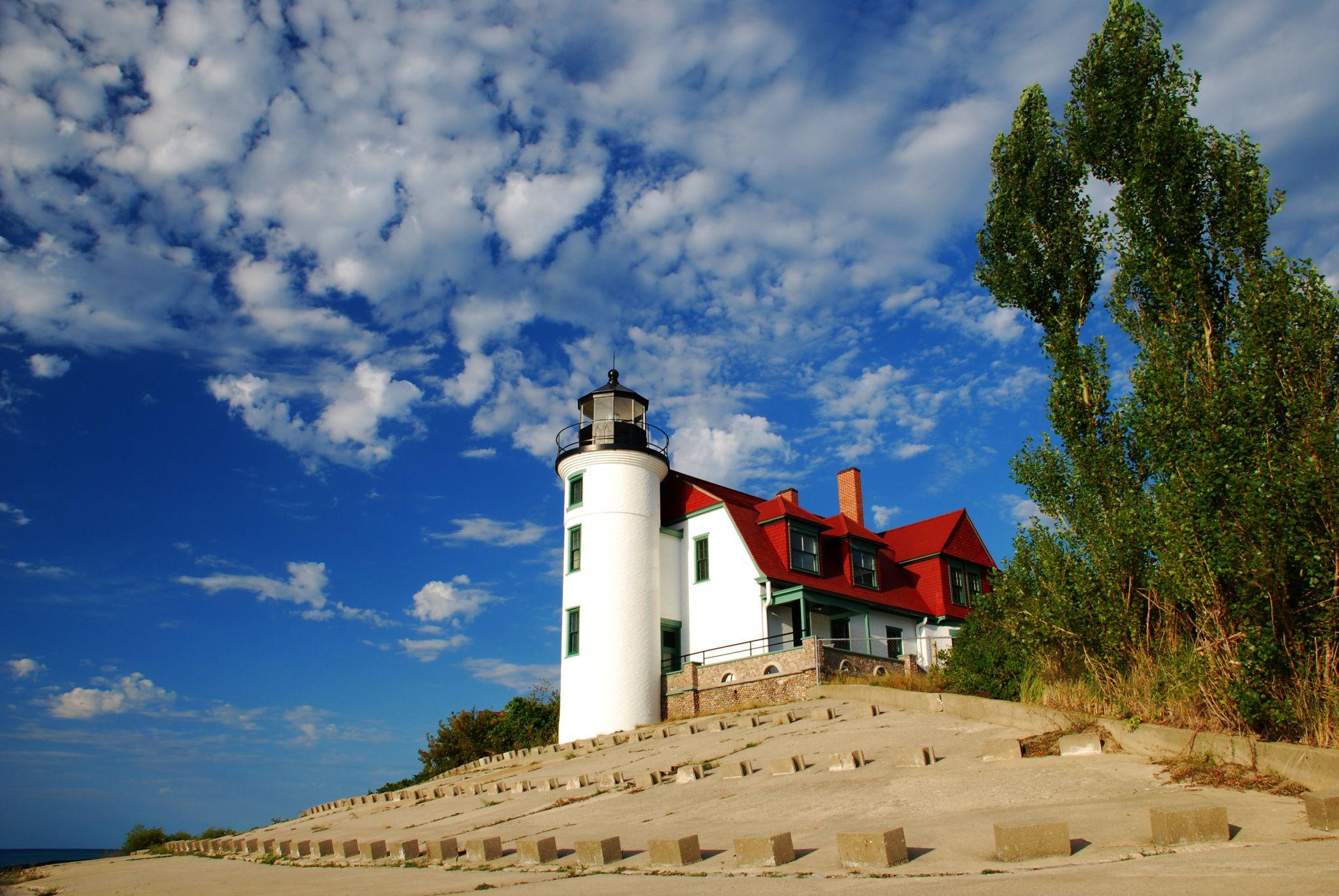 Point Betsie Lighthouse, USA