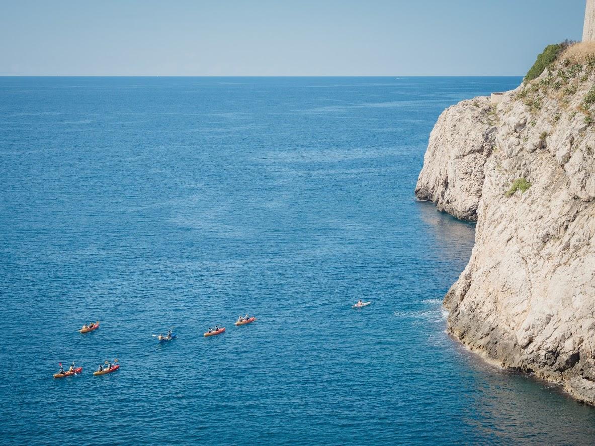 Rocks in Dubrovnik, Croatia
