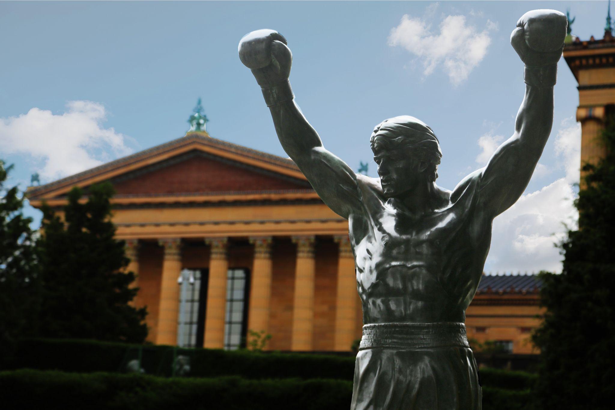 Rocky statue, USA