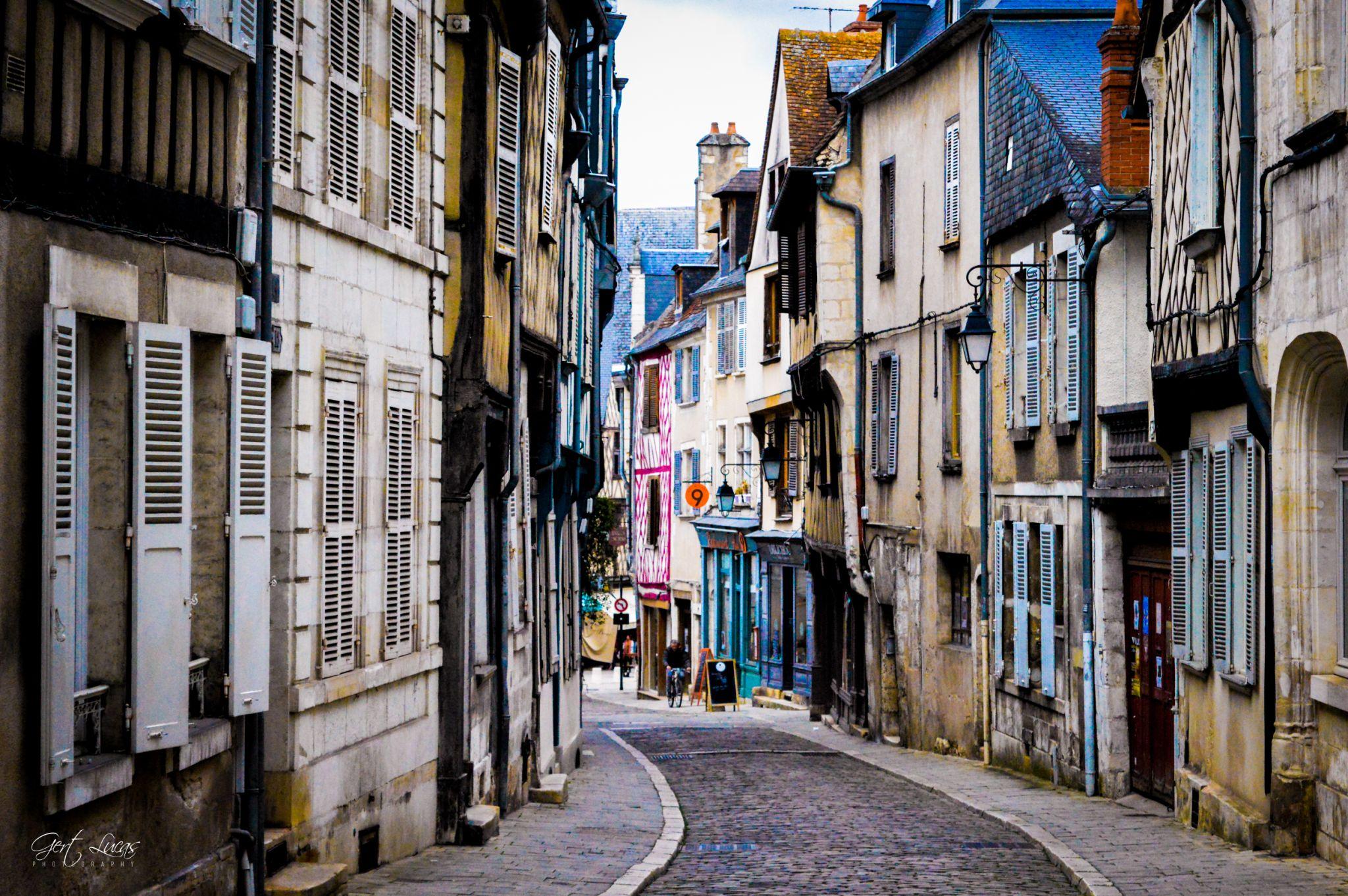 Rue Bourbounnoux, France