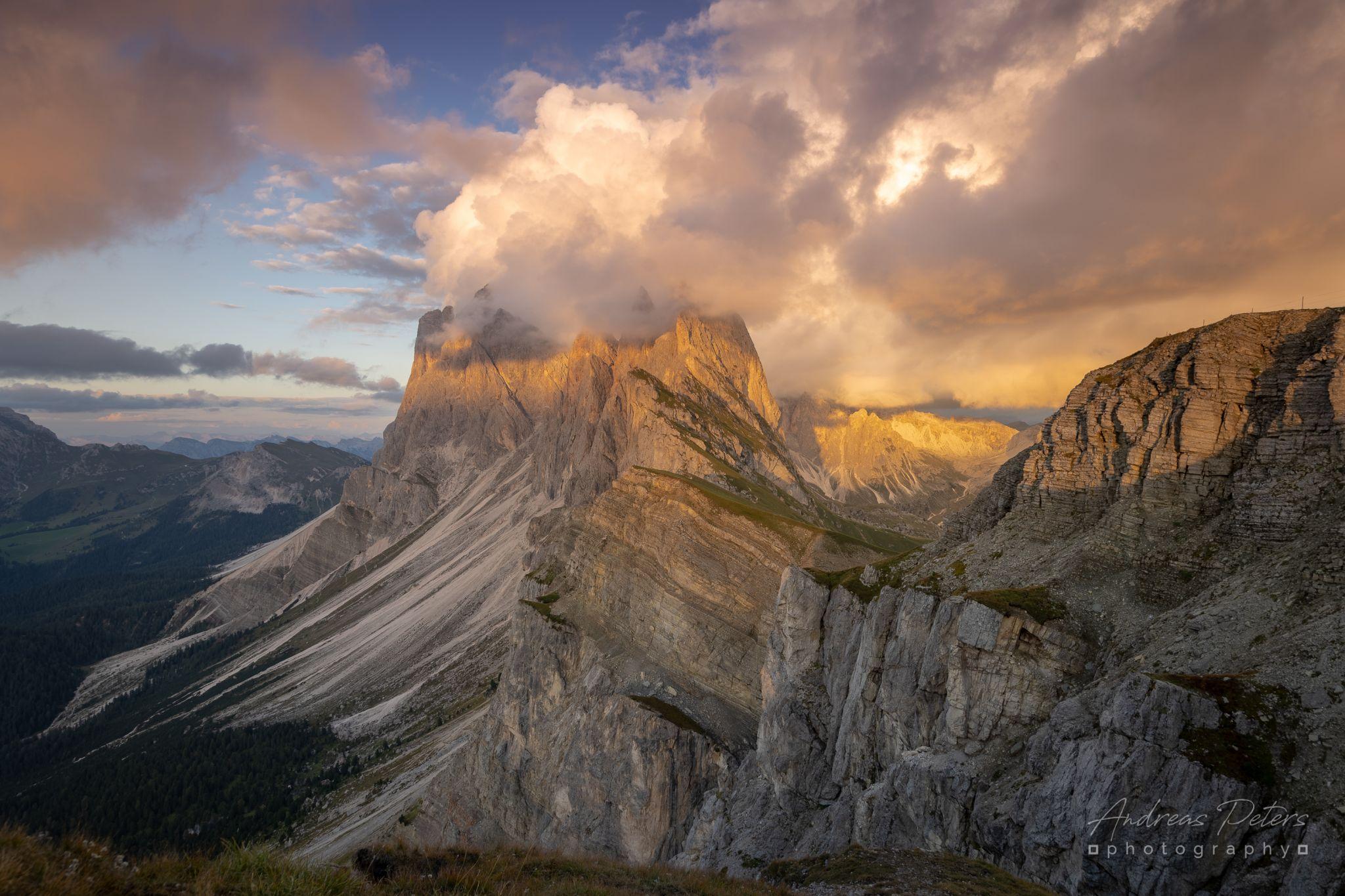 Seceda (2500m), Dolomites, Italy
