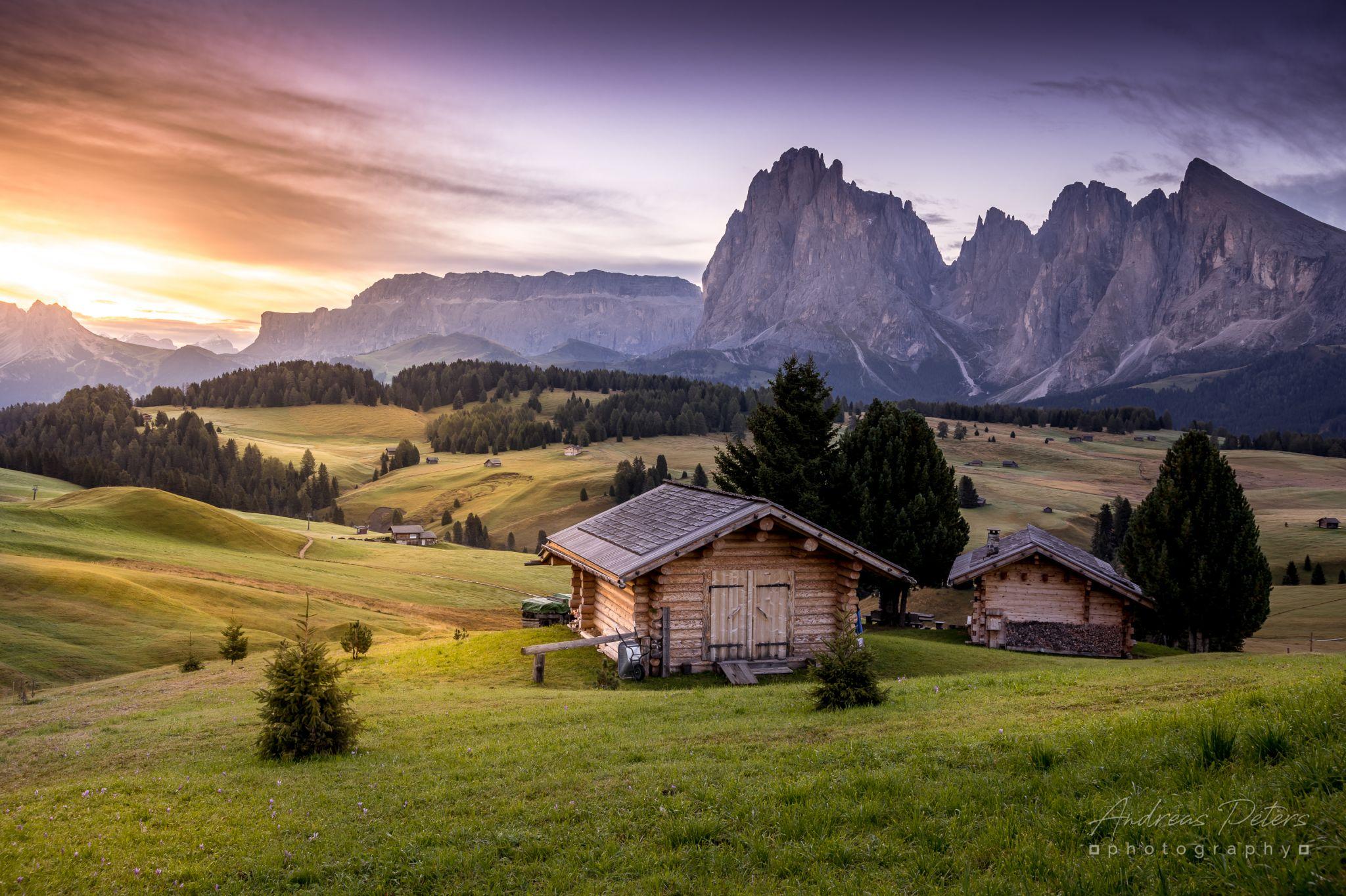 Seiser Alm (near Adler Lodge), Italy
