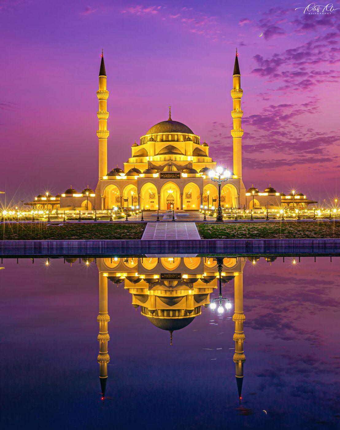 Sharjah Mosque, United Arab Emirates