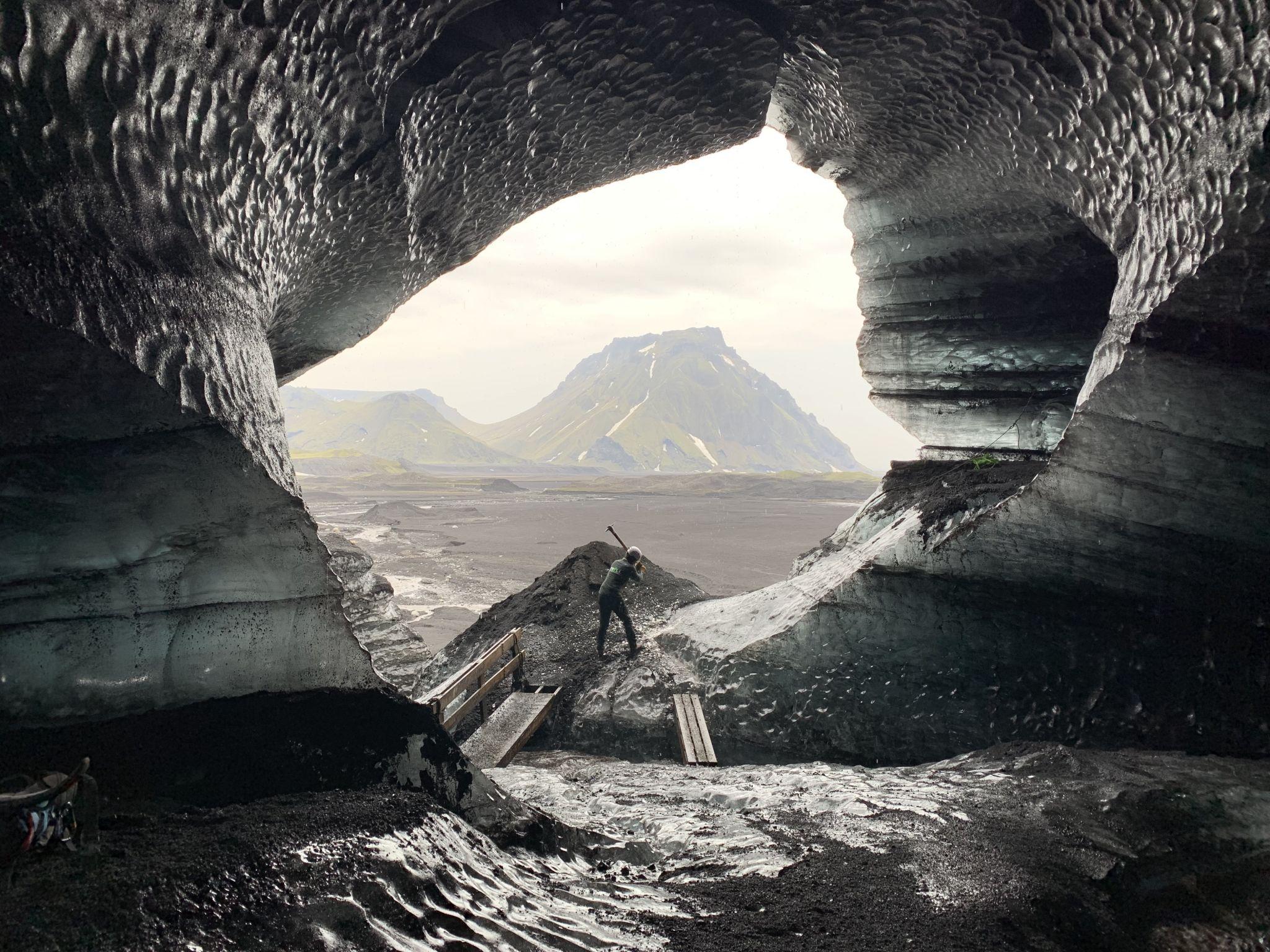 Skaftafell Blue Ice Cave, Iceland
