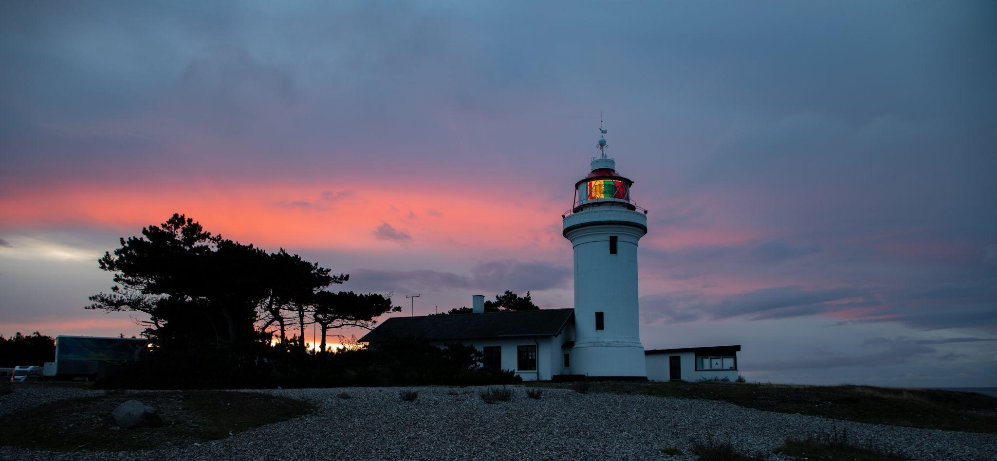 Sletter Hage Lighthouse, Denmark