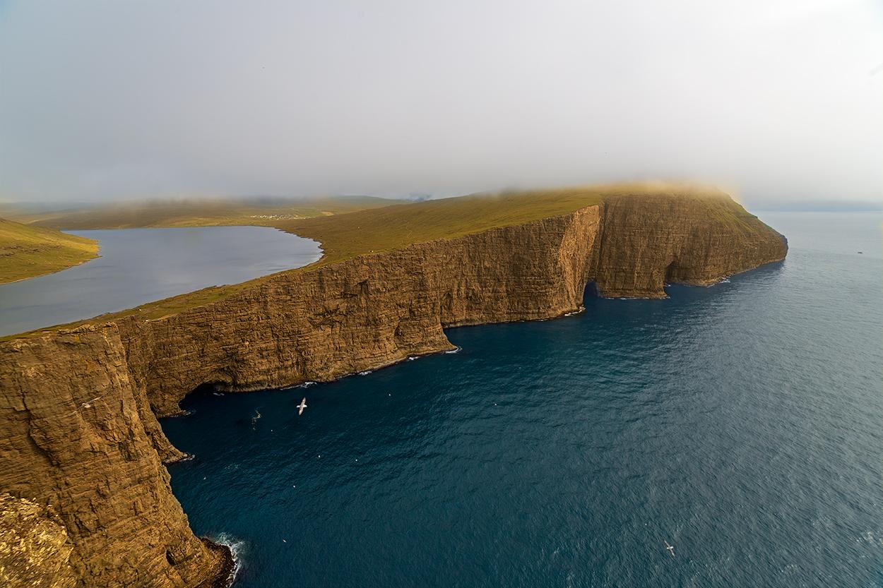 Sorvagsvatn lake, Faroe Islands