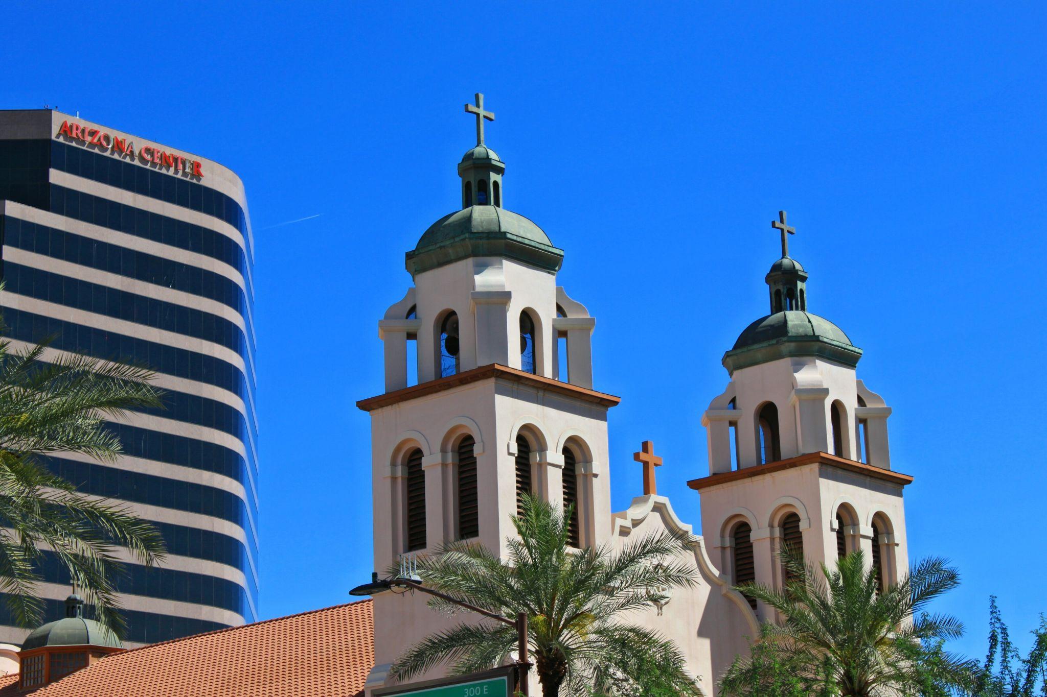 St. Mary's Basilica, Phoenix, Arizona, USA