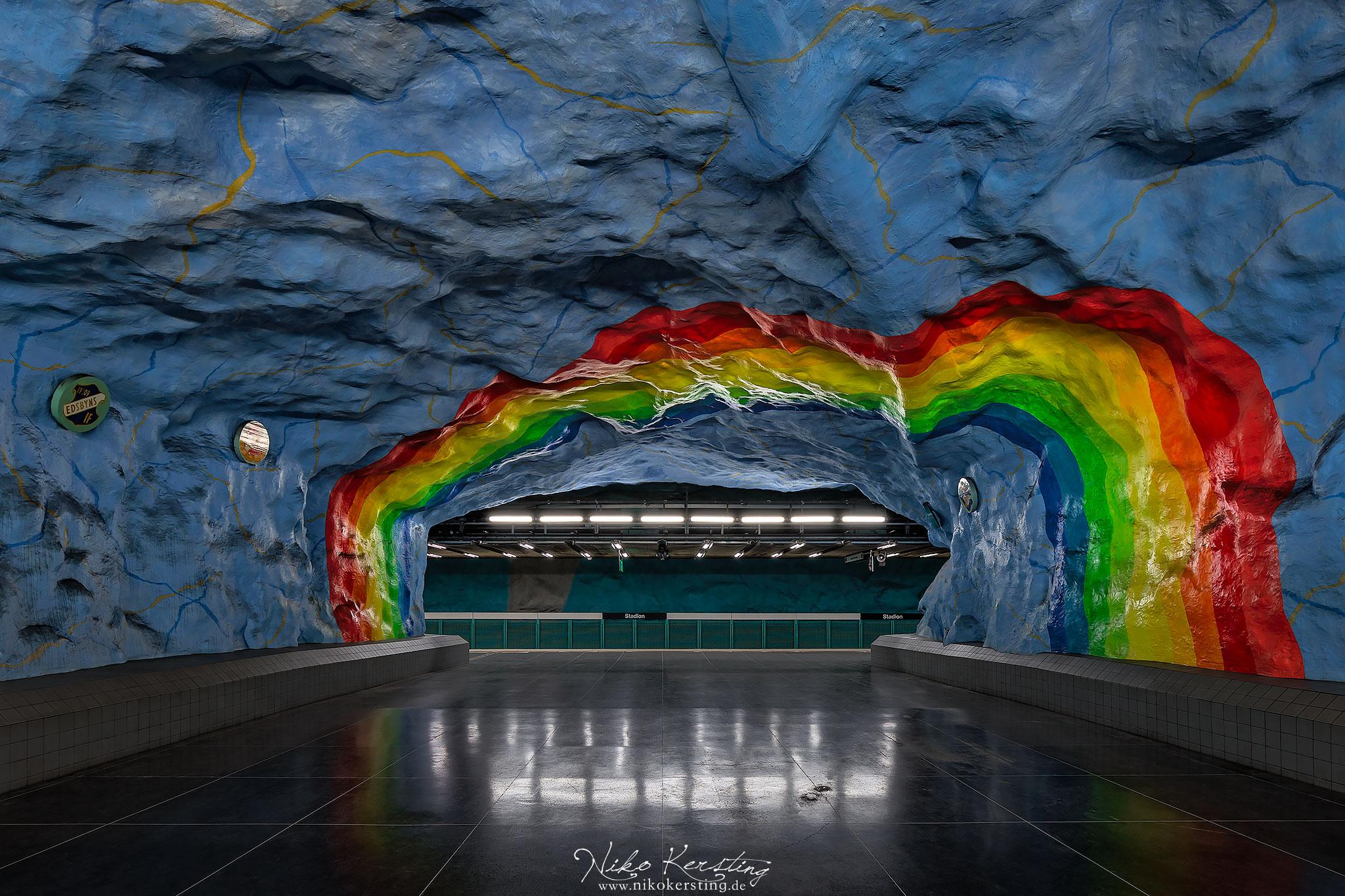 Stadion (Underground Station), Sweden