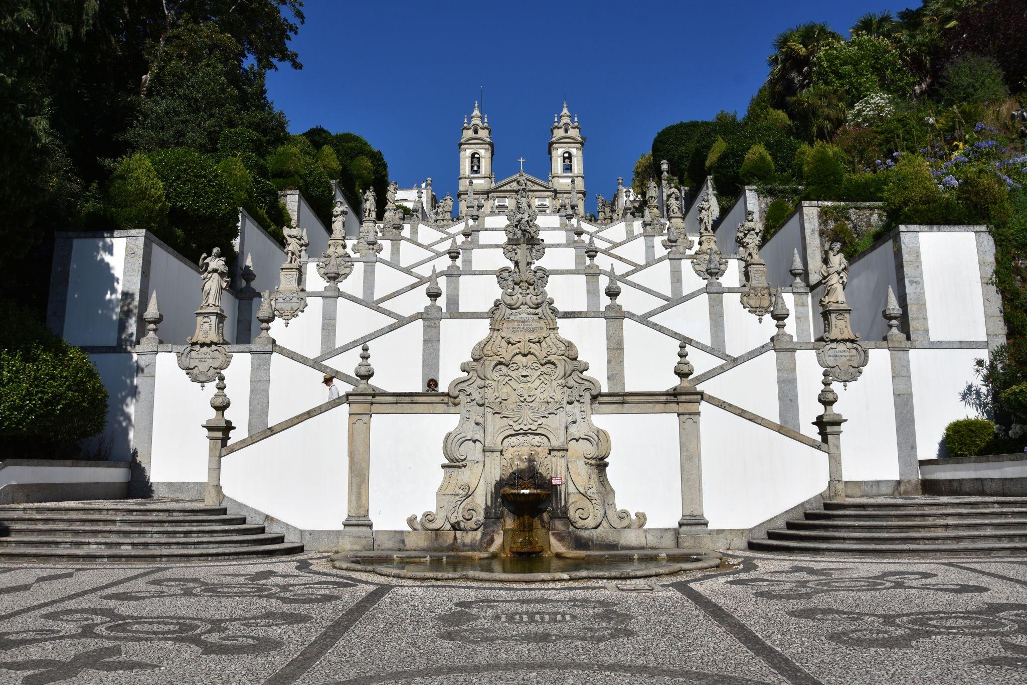 Stairway of Bom Jesus, Portugal