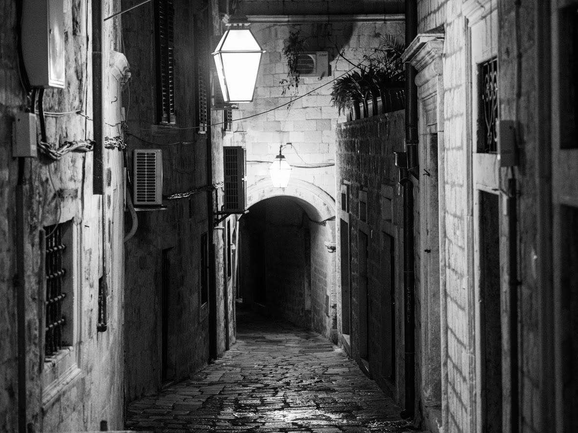 Street in Dubrovnik, Chroatia, Croatia