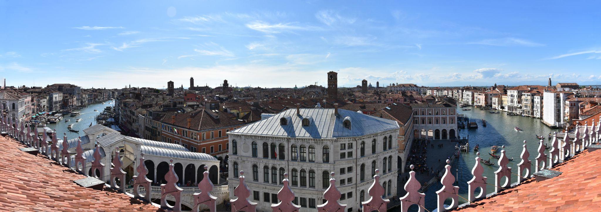 T Fondaco Dei Tedeschi Rooftop Terrace View Italy