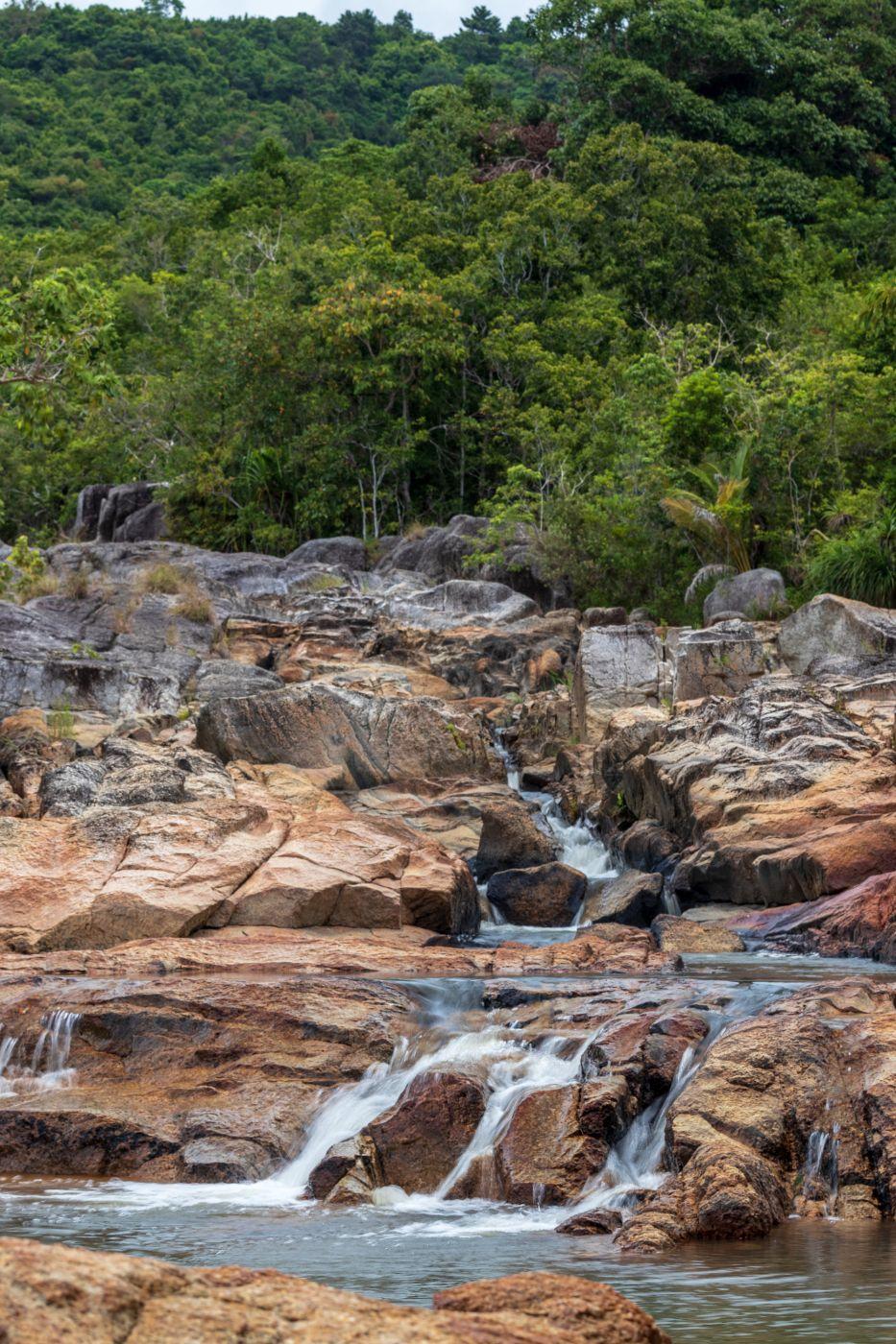 Than Sadet Waterfalls (lower part), Thailand