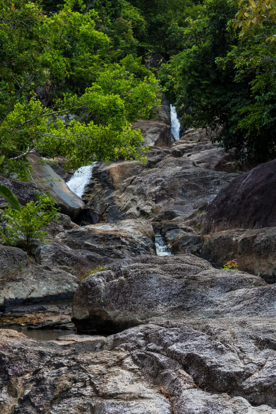 Than Sadet Waterfalls (upper part), Thailand