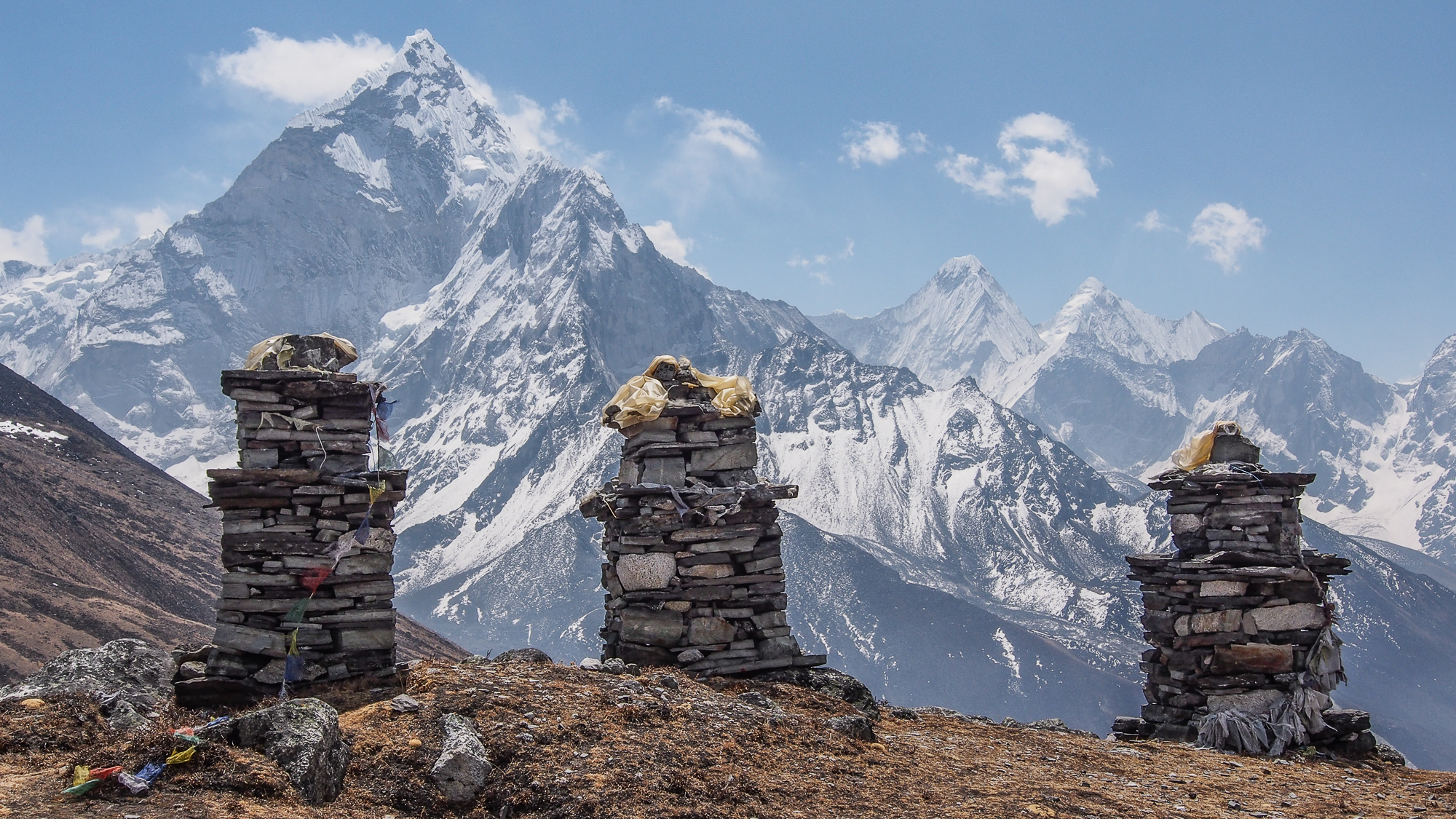 Thokla pass , Everest memorial, Nepal