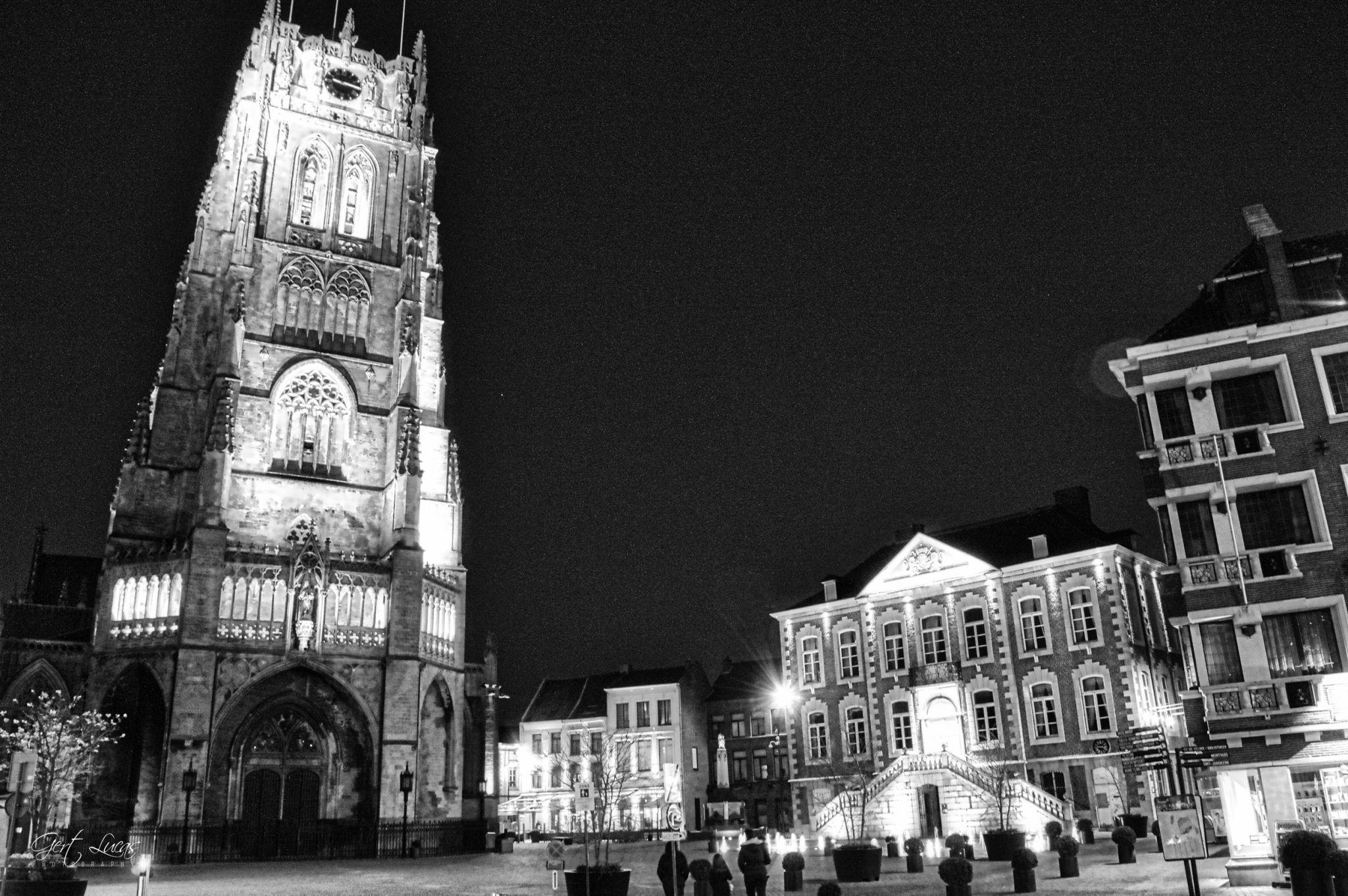 Tongeren central plaza, Belgium