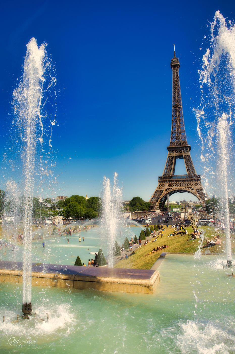 Trocadero Gardens, France